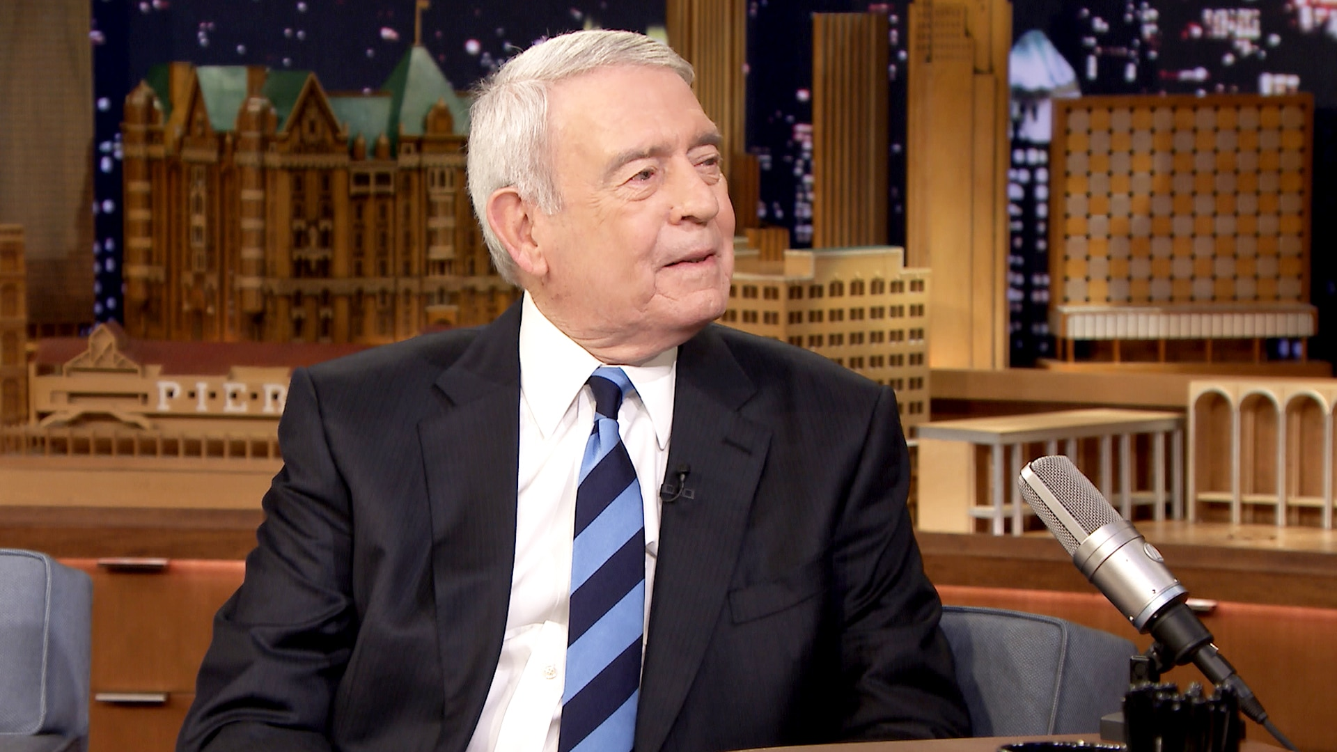 Jimmy Fallon Interviews Dan Rather About Facebook and Donald Trump