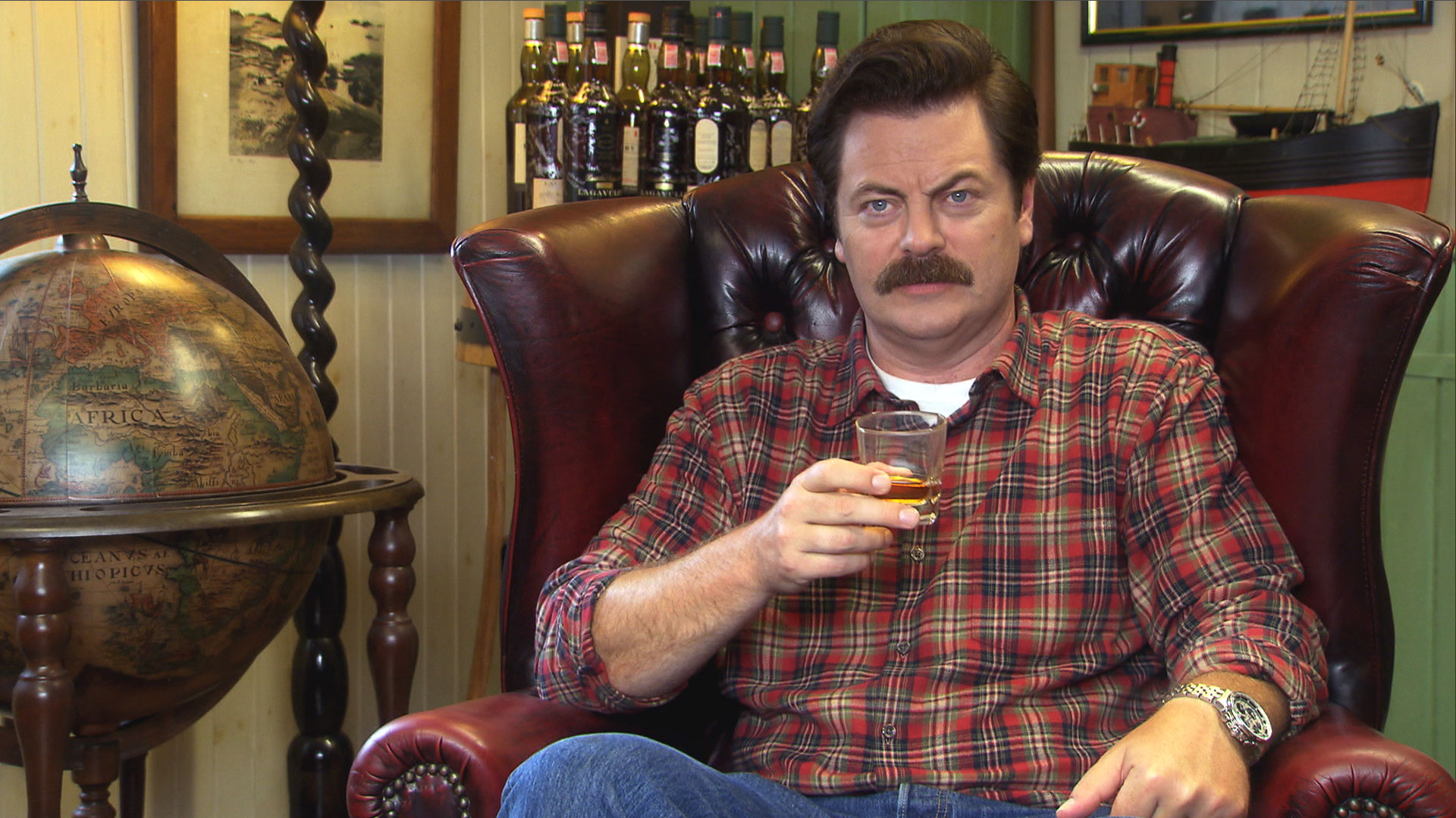 Watch Parks And Recreation Web Exclusive Ron At The