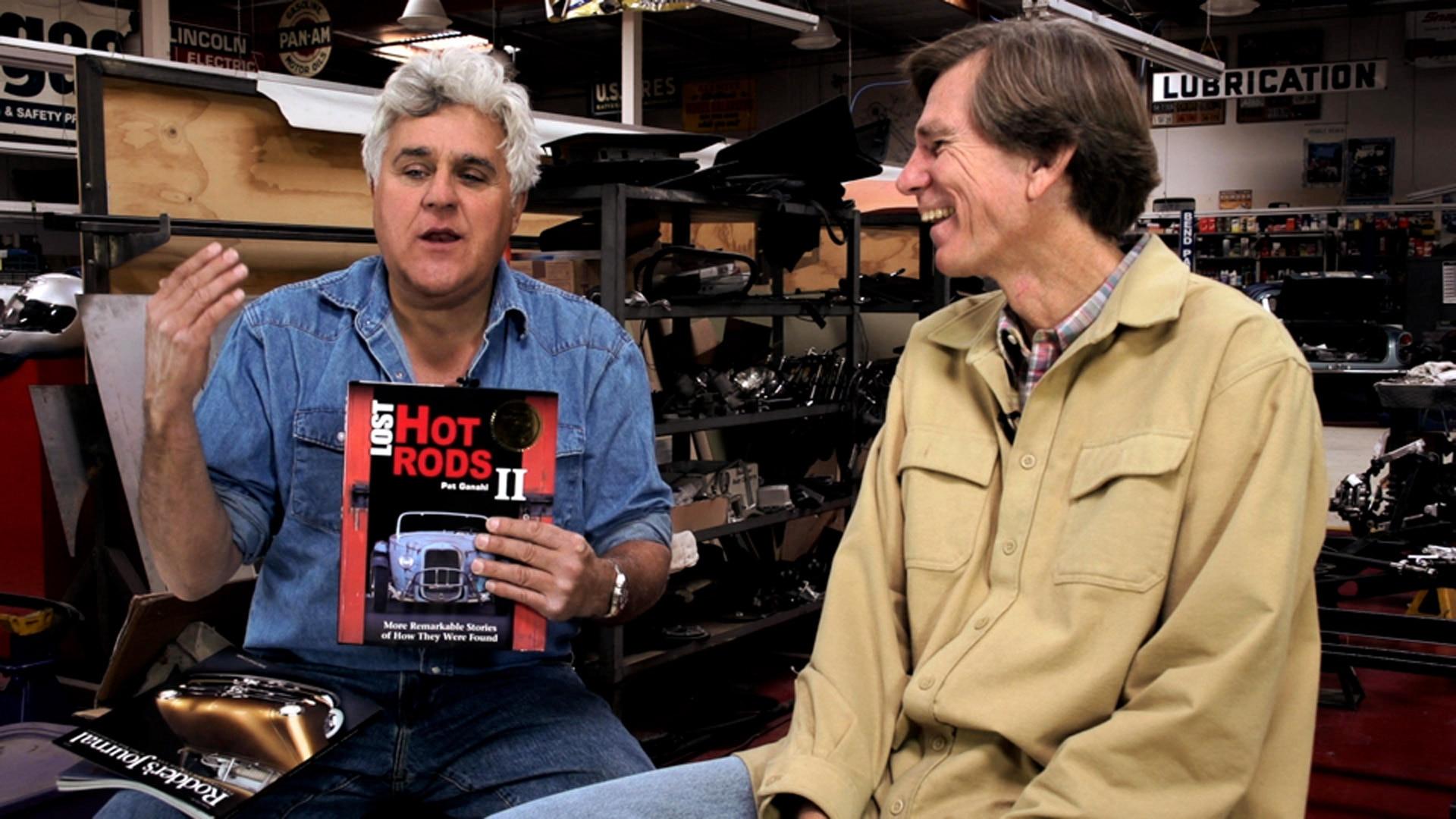 Watch Jay Leno's Garage Web Exclusive: Jay's Book Club