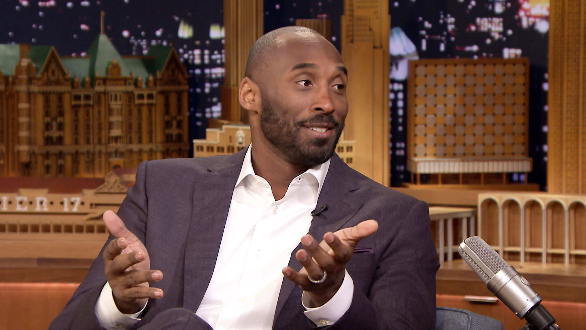 Kobe Bryant Cold Called Legends to Score and Animate Dear Basketball