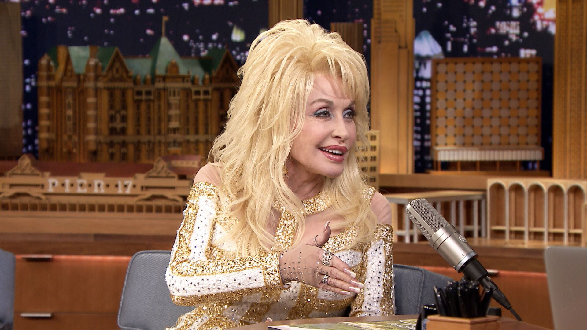 Dolly Parton Cooks with Her Squad and RV Camps with Her Husband