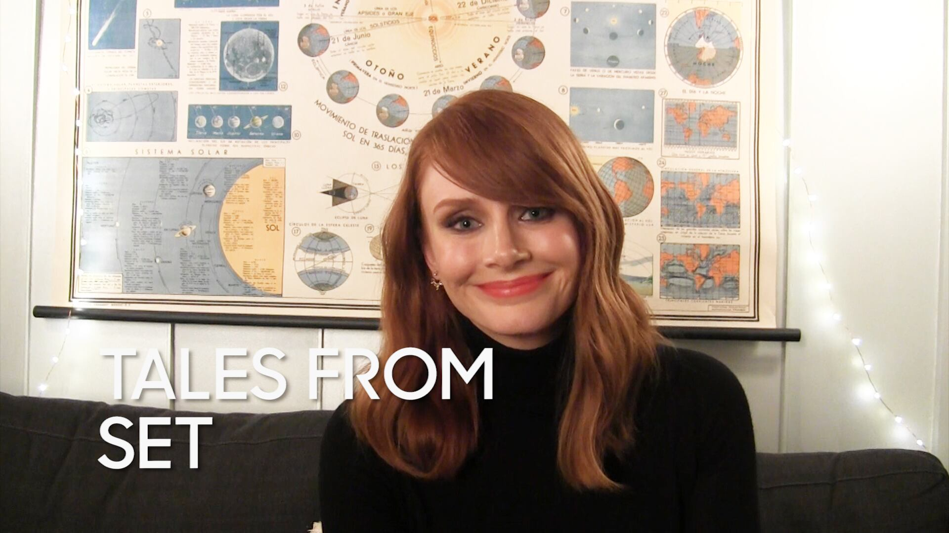 "Tales from Set: Bryce Dallas Howard on ""Jurassic World"""