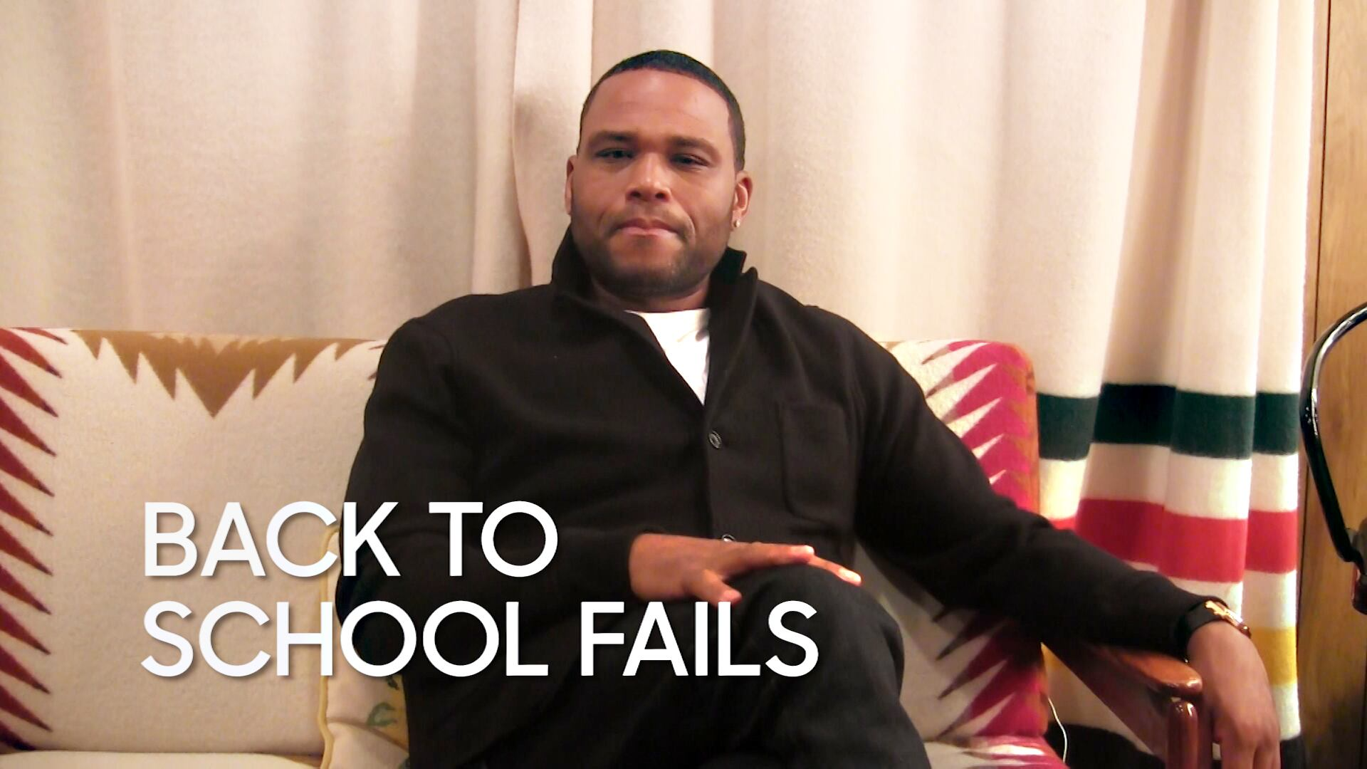 Back to School Fails: Anthony Anderson