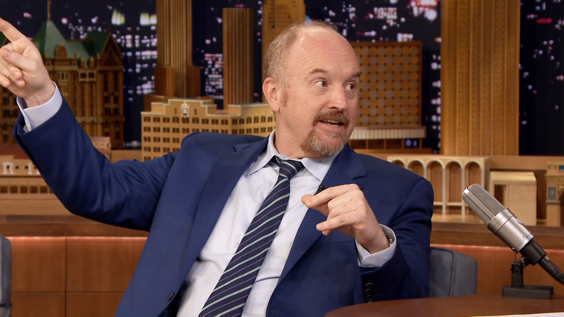 Louis C.K. Had a Traumatic Boating Incident with His Daughter