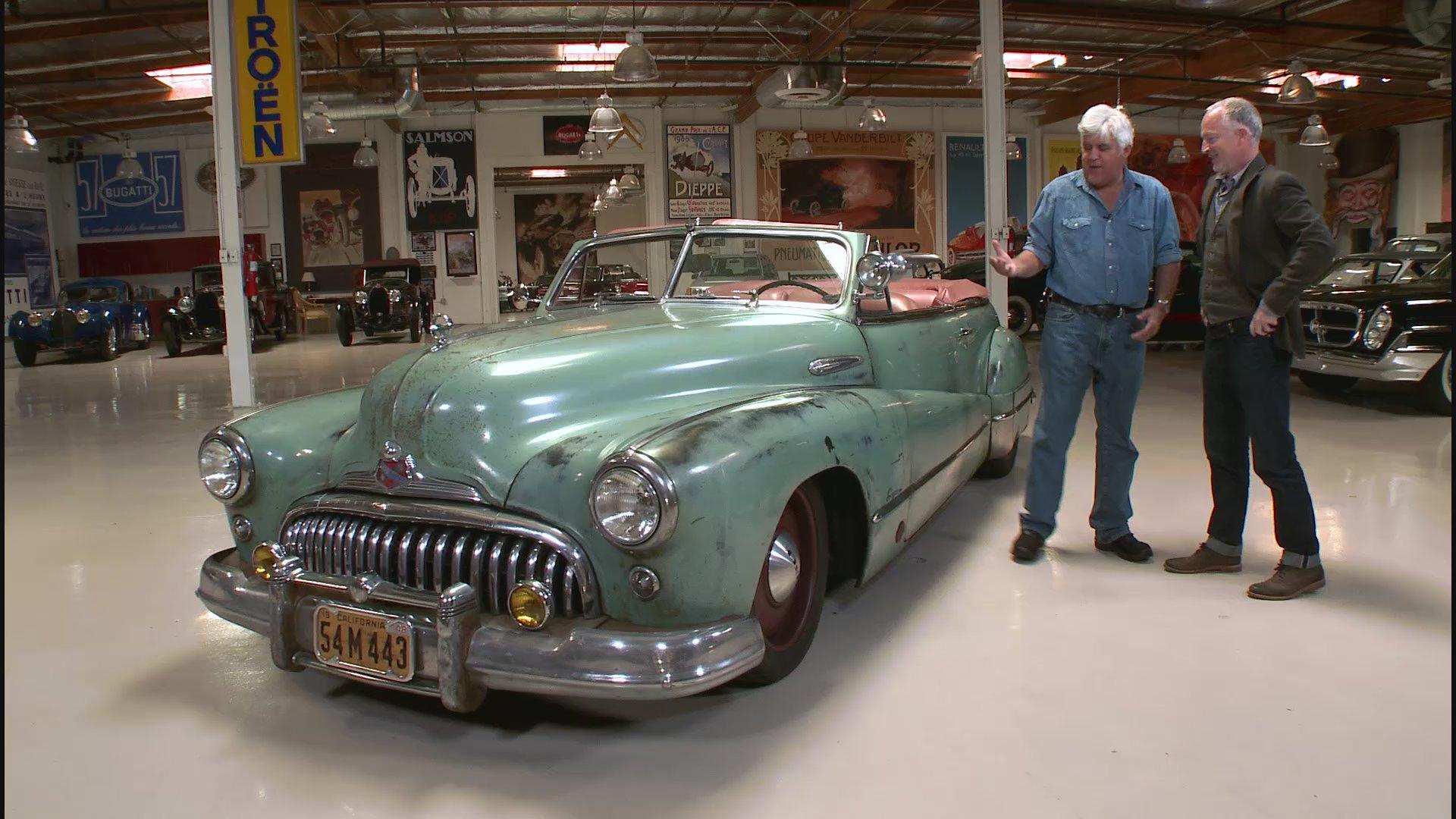 Watch Jay Leno S Garage Web Exclusive Icon Derelict 1948 Buick Super Convertible Nbc