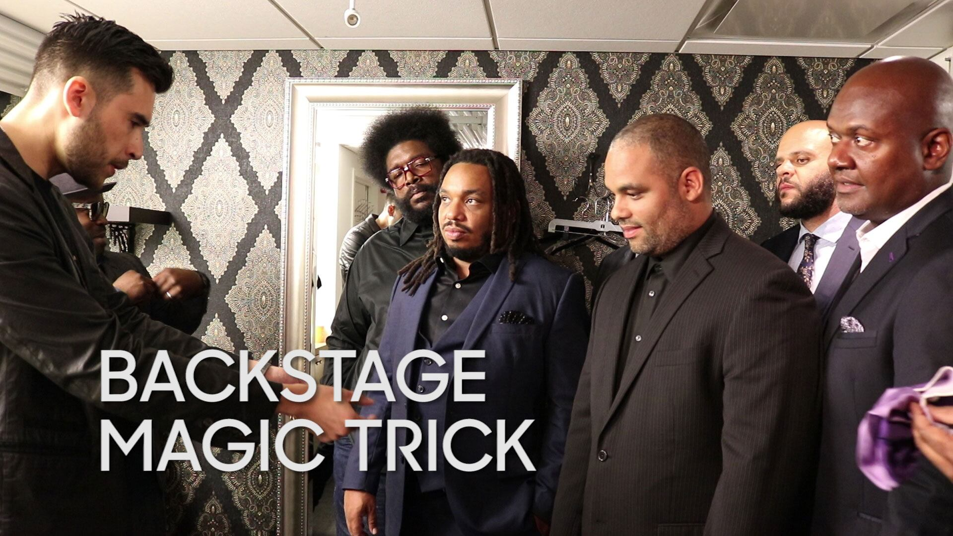 Backstage Magic Trick: Dan White Returns! (with The Roots)