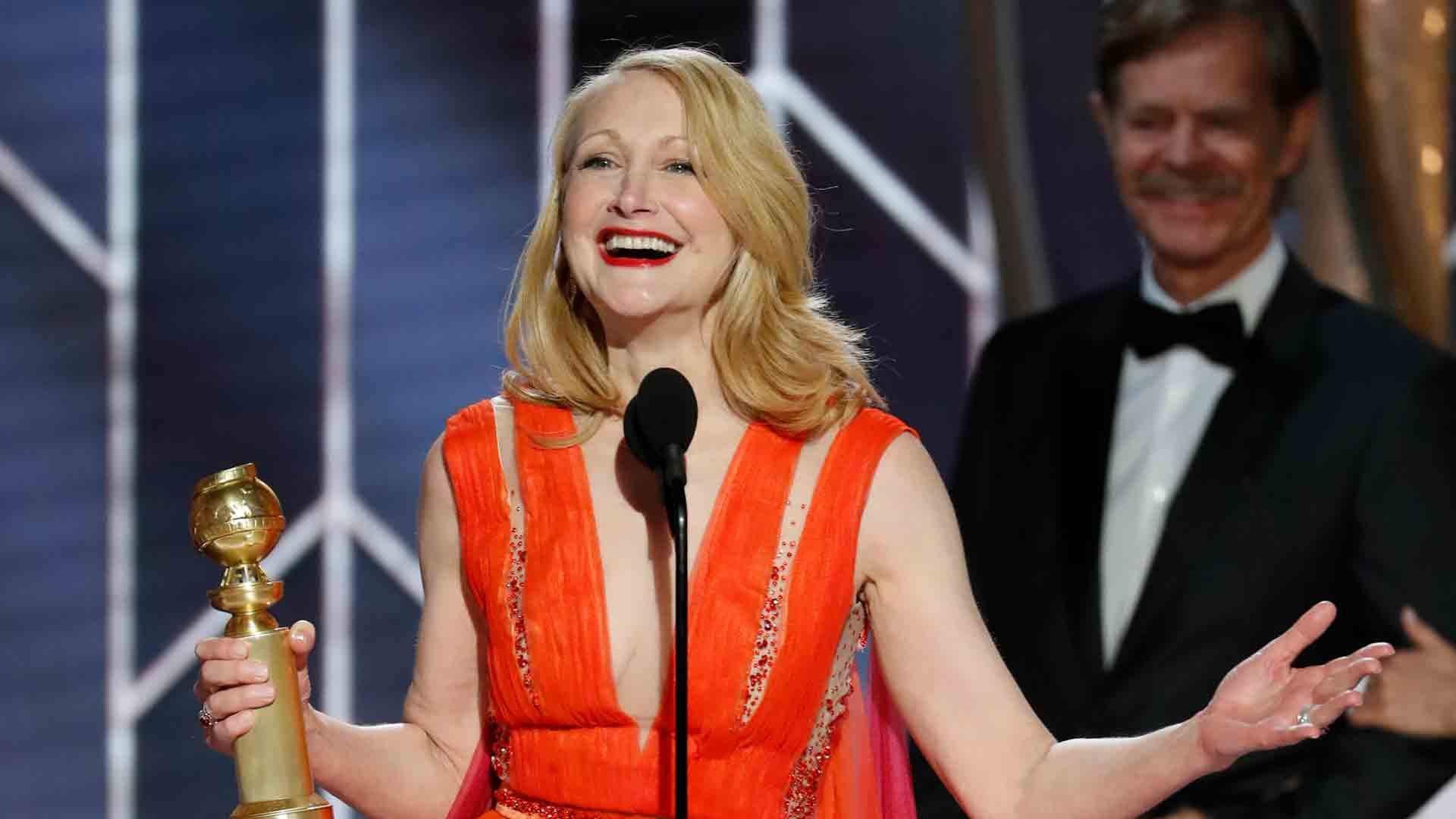 Watch The Golden Globe Awards Highlight: Patricia Clarkson ...