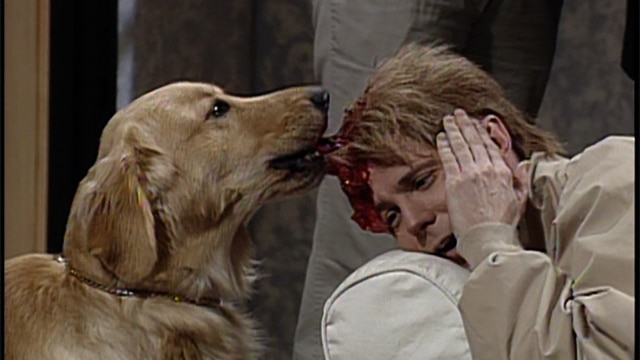 watch saturday night live highlight massive head wound