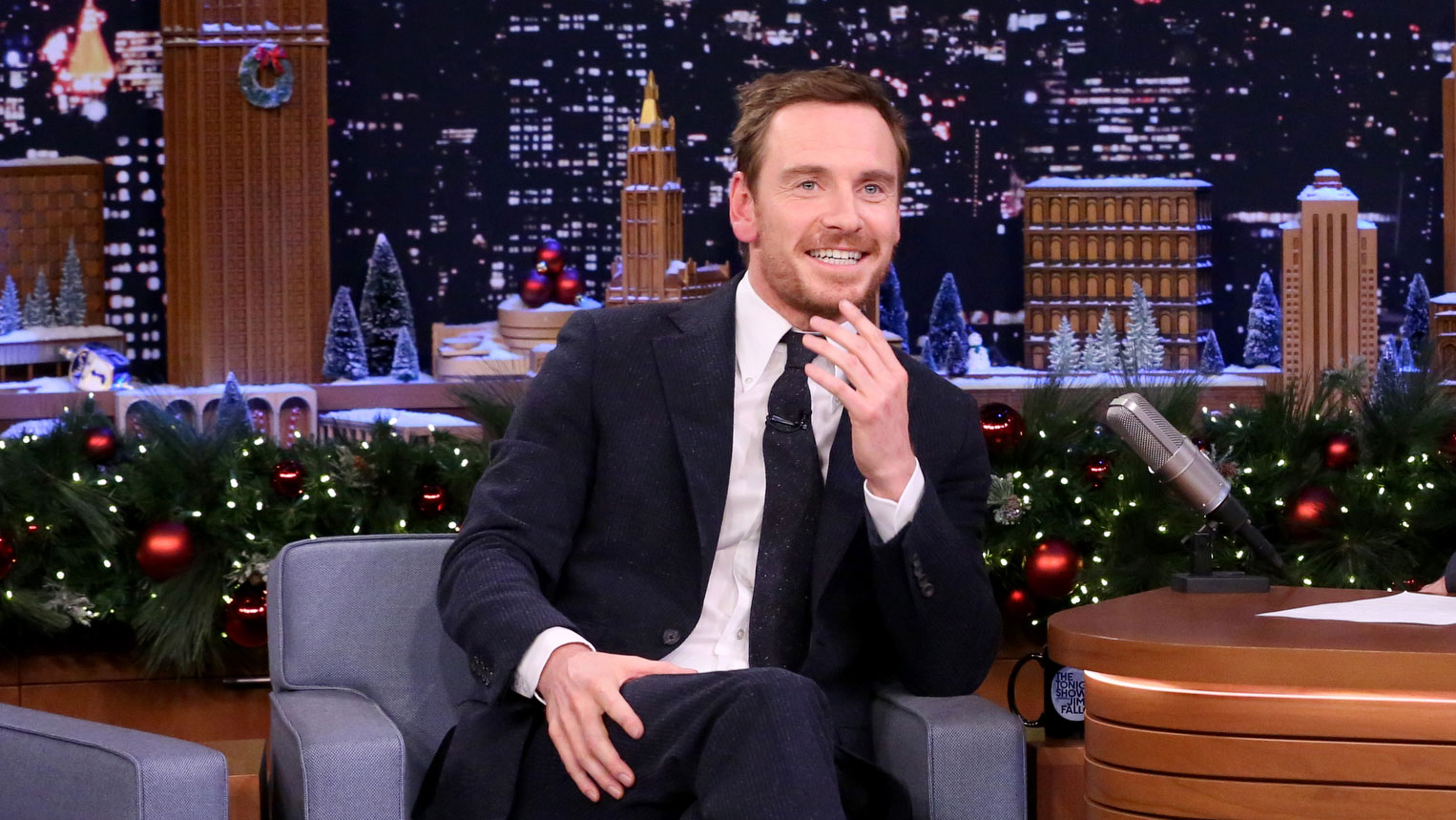 Michael Fassbender Explains Assassin's Creed's Genetic Time Travel to Jimmy