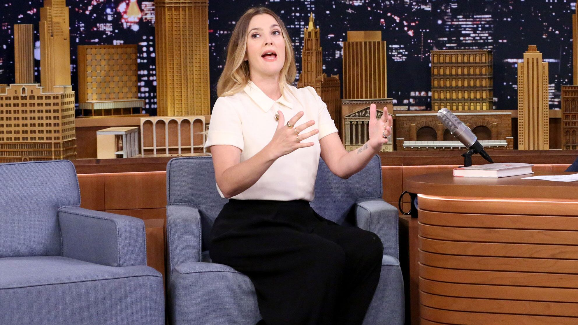 Drew Barrymore Crashed an RV into a Gas Station