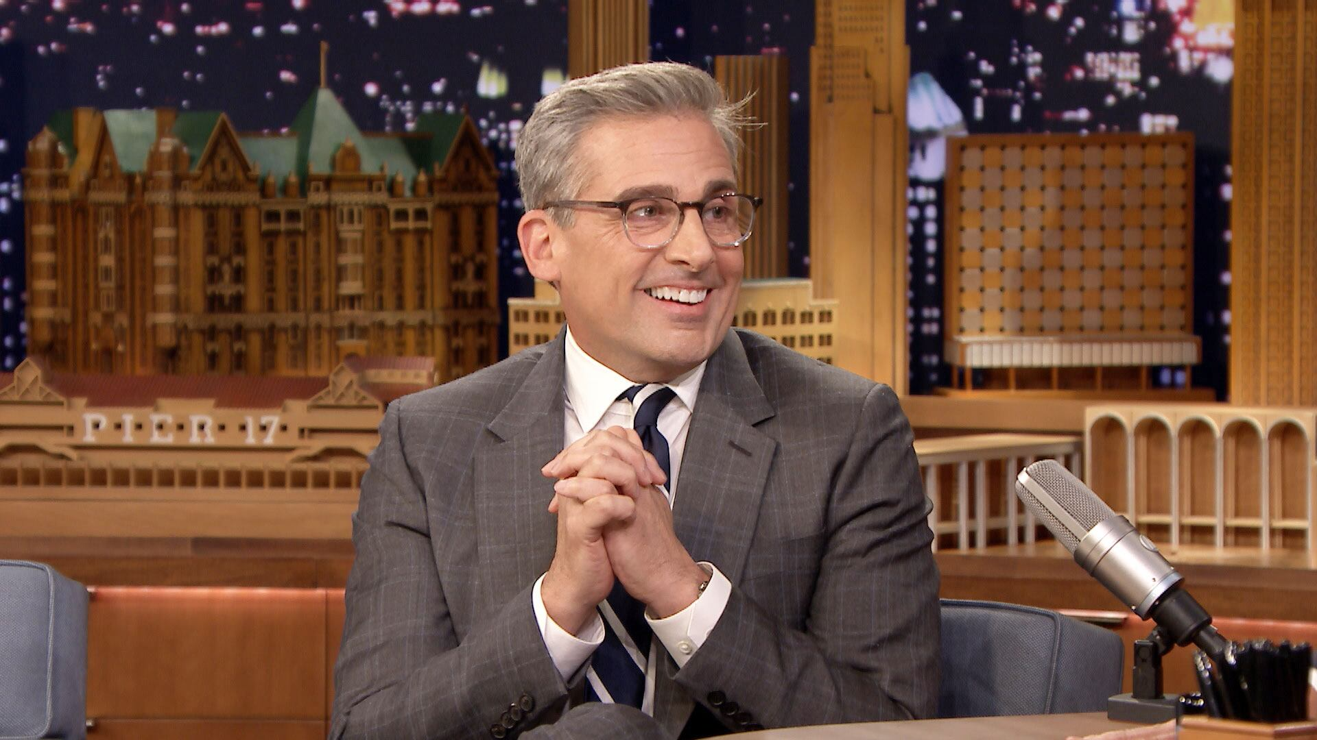 Steve Carell's '80s Fashion Was All Shoulder Pads and Balloon Pants