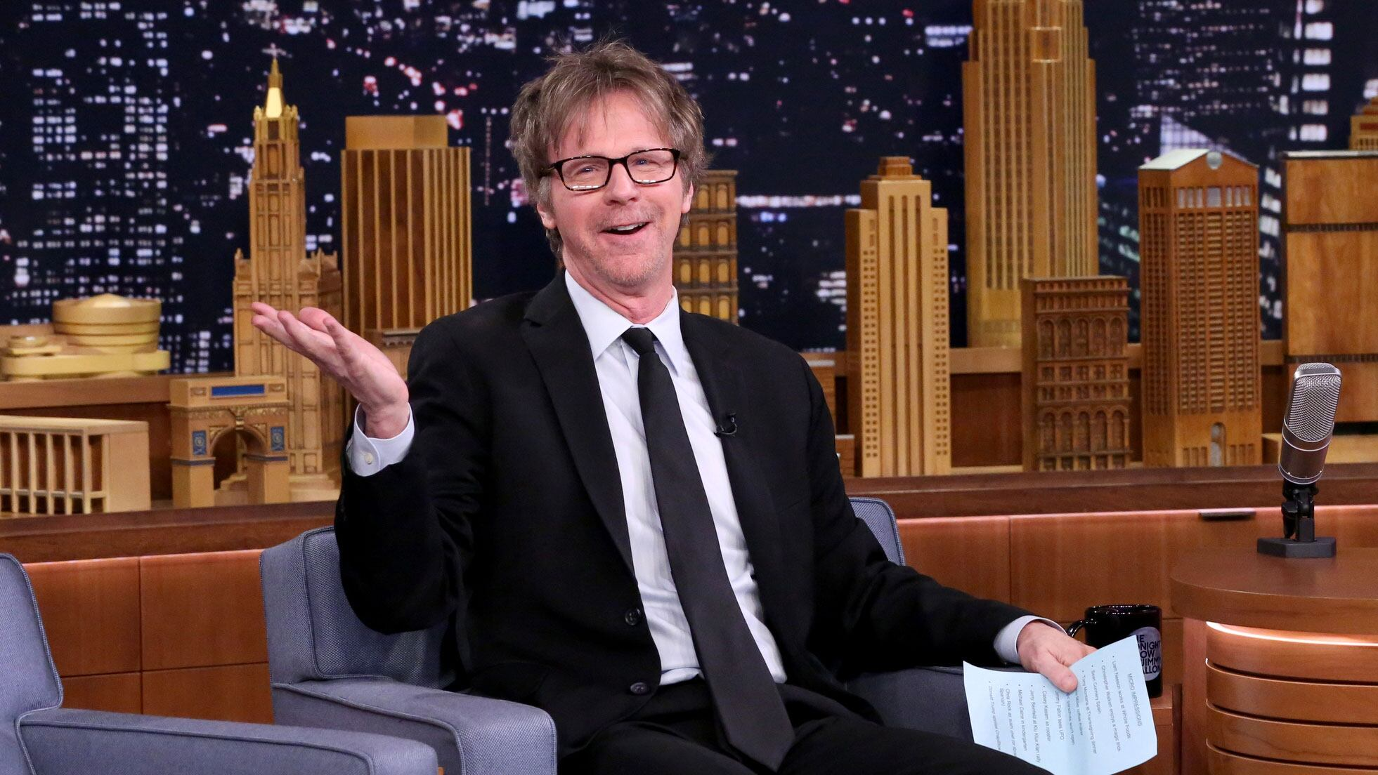 Dana Carvey Debuts His Jimmy Fallon Micro-Impression