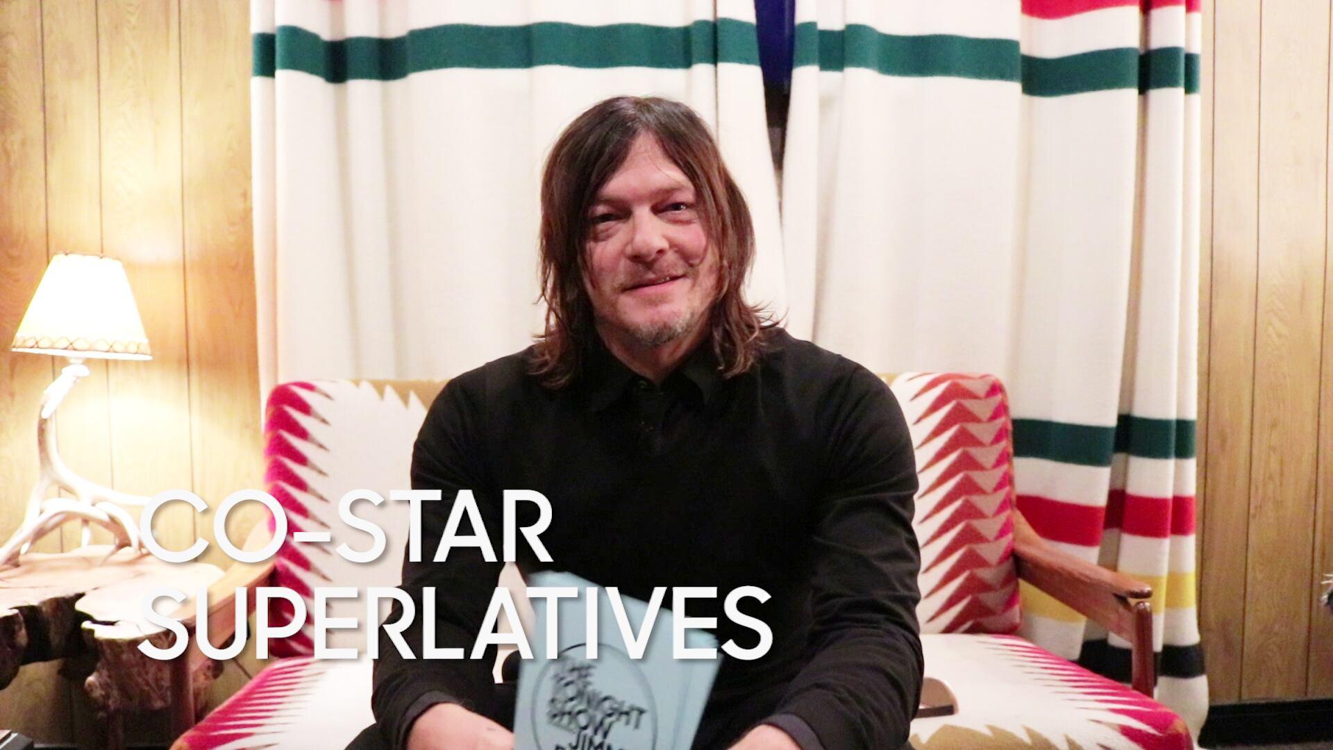 "Co-Star Superlatives: Norman Reedus ""The Walking Dead"""