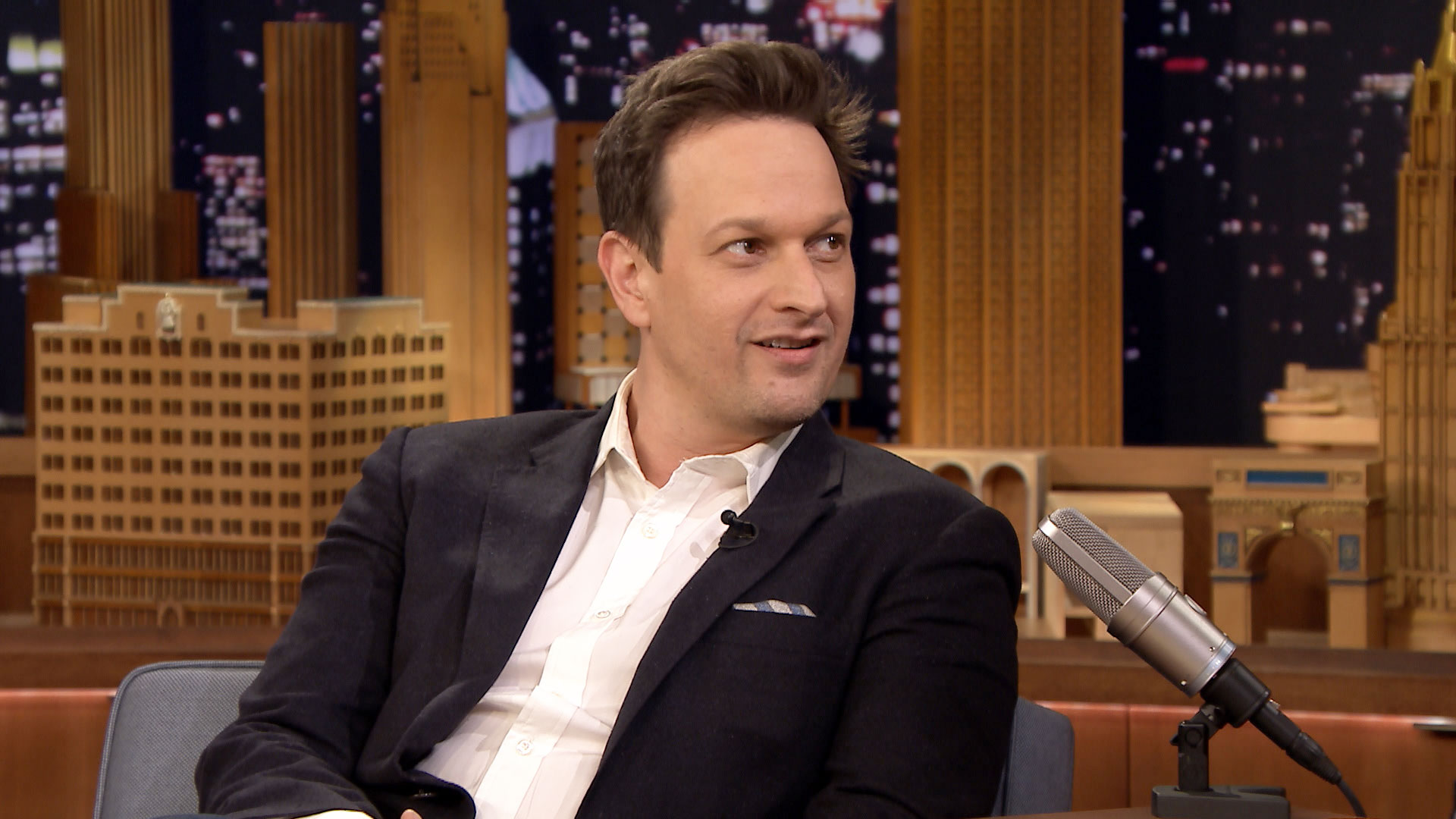 Josh Charles Is His Son's Human Jukebox