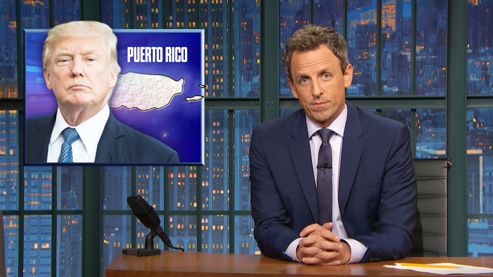 Watch Late Night With Seth Meyers Highlight Trump S