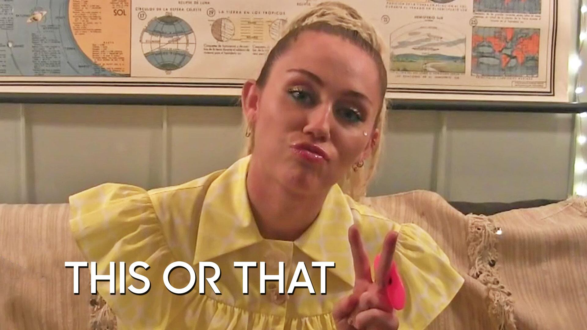 This or That: Miley Cyrus