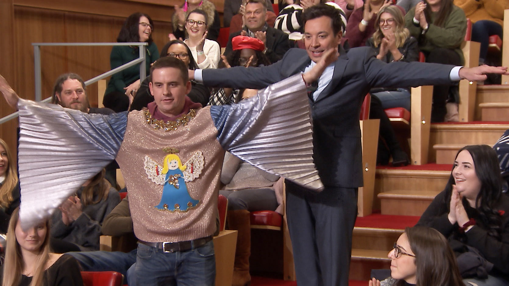Jimmy Fallon Christmas Sweaters.Jimmy 12 Days Of Christmas Woestenhoeve