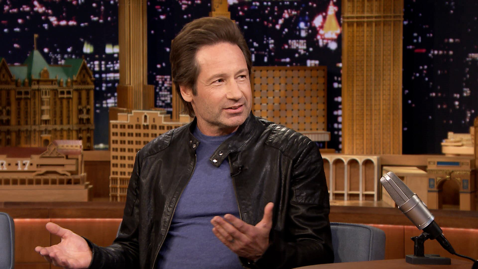 David Duchovny Was the Head Boy in High School