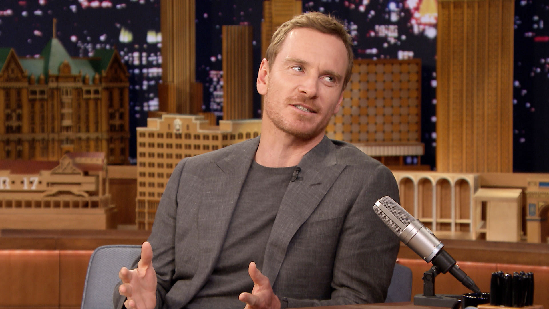 Michael Fassbender Celebrated His 40th Birthday with Spring Break
