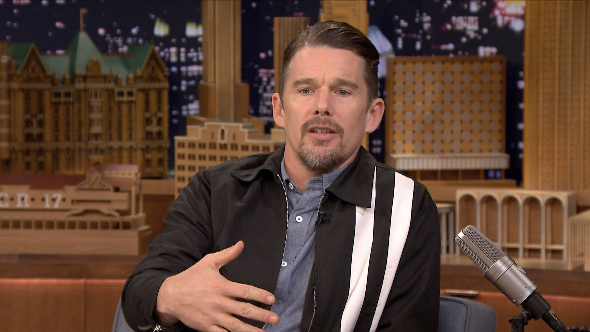 Ethan Hawke Uses Knights to Explain Life Rules to Kids