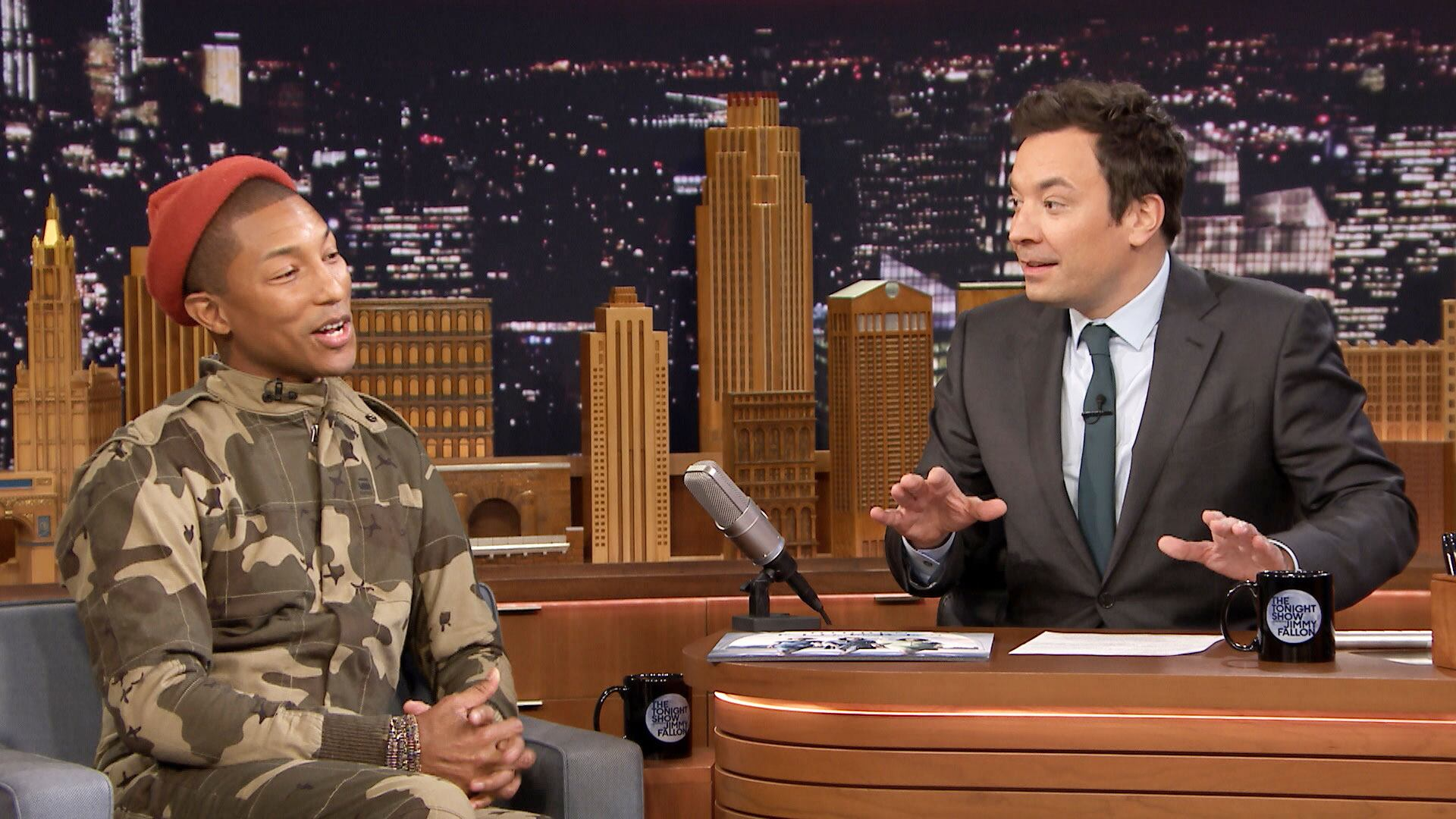 Pharrell Williams Helped Book a Music Guest on The Tonight Show