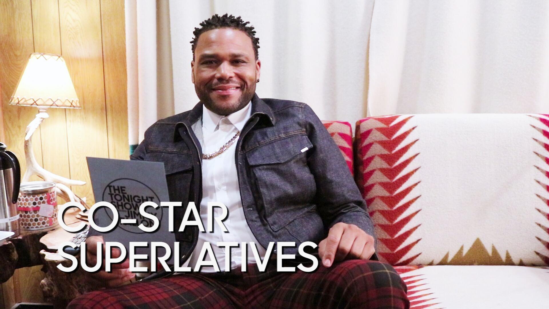 "Co-Star Superlatives: Anthony Anderson ""Black-ish"""