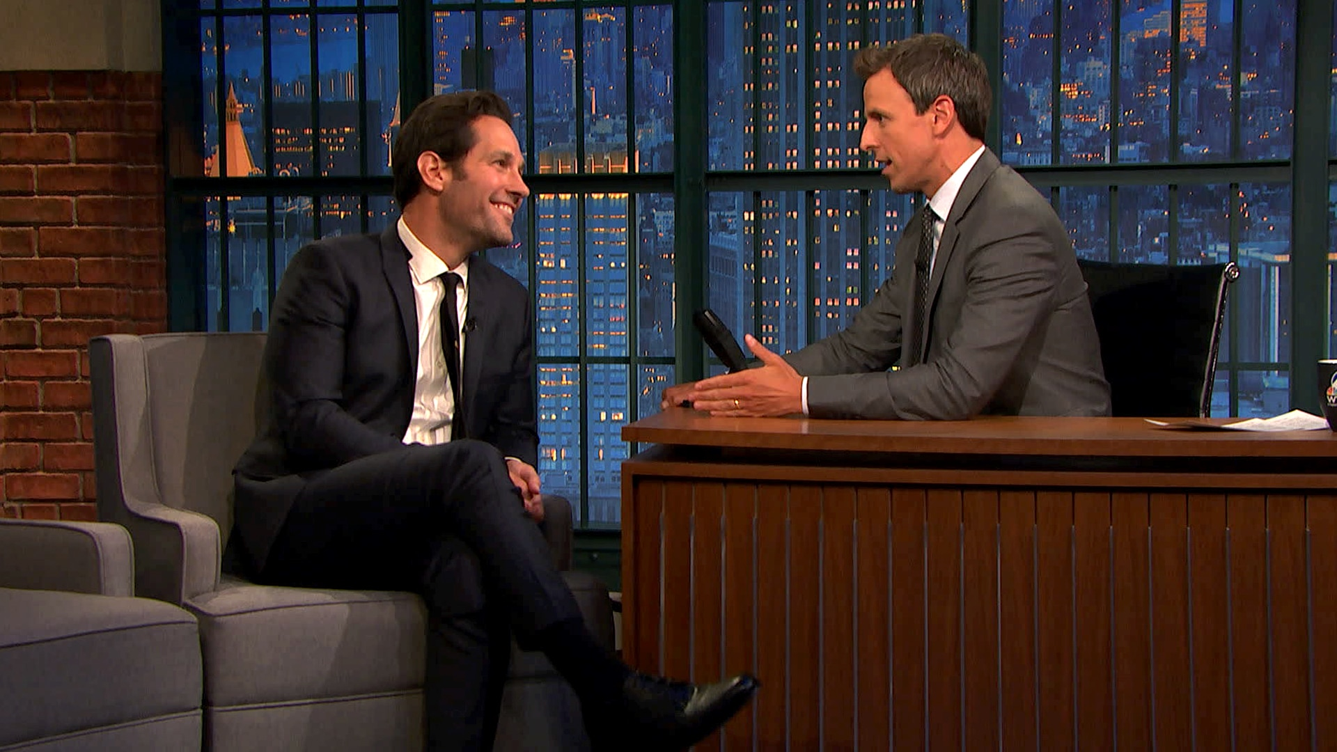 Watch Late Night With Seth Meyers Episode Paul Rudd