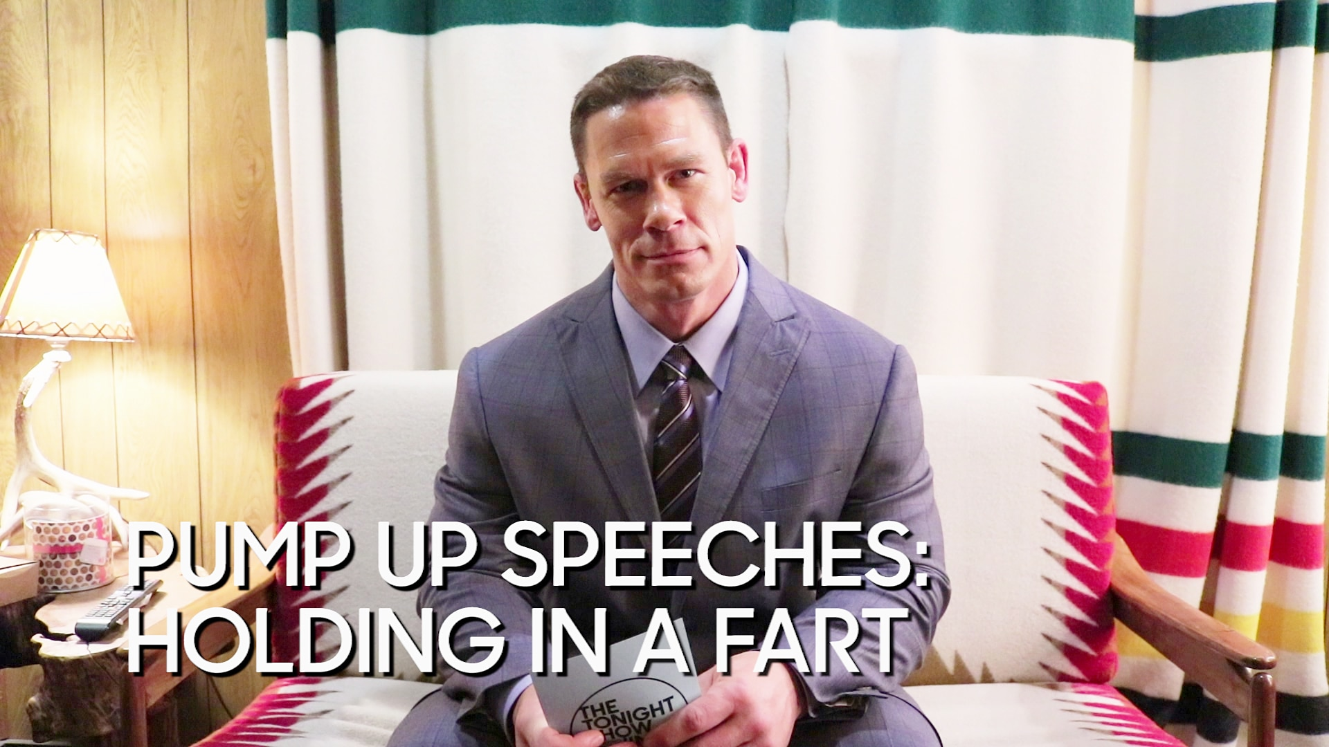 Pump Up Speeches: Holding in a Fart (with John Cena)