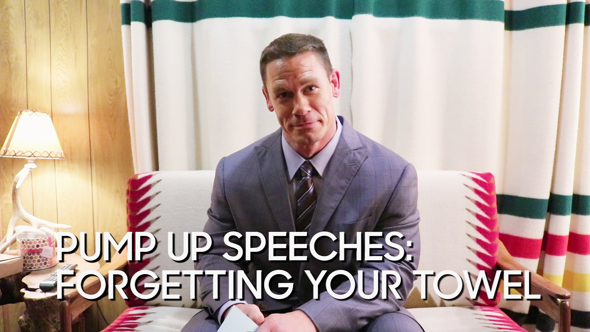 Pump Up Speeches: Forgetting Your Towel (with John Cena)
