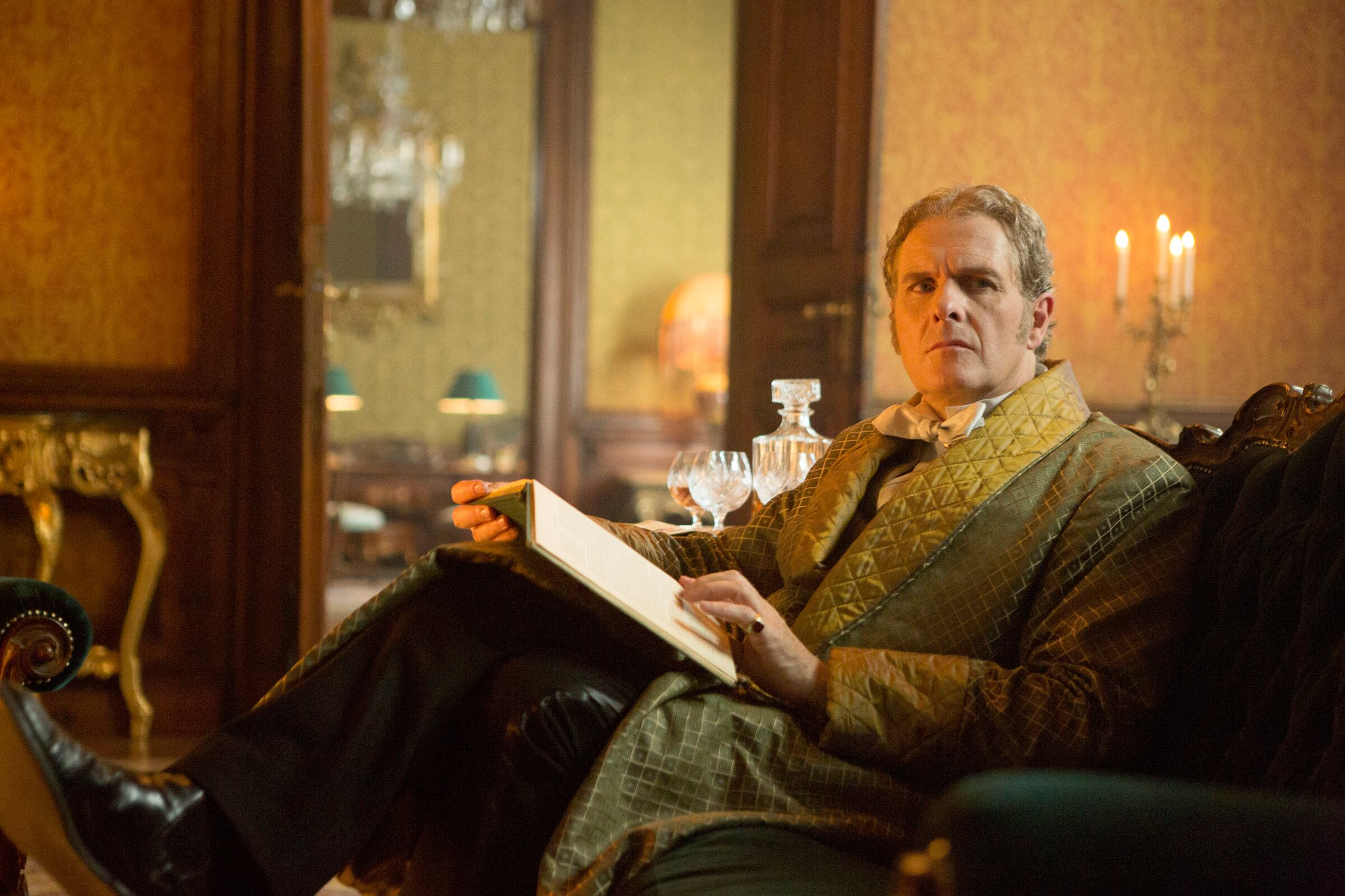 Pictured: Robert Bathurst as Lord Thomas Davenport -- (Photo by: David Lukacs/NBC)