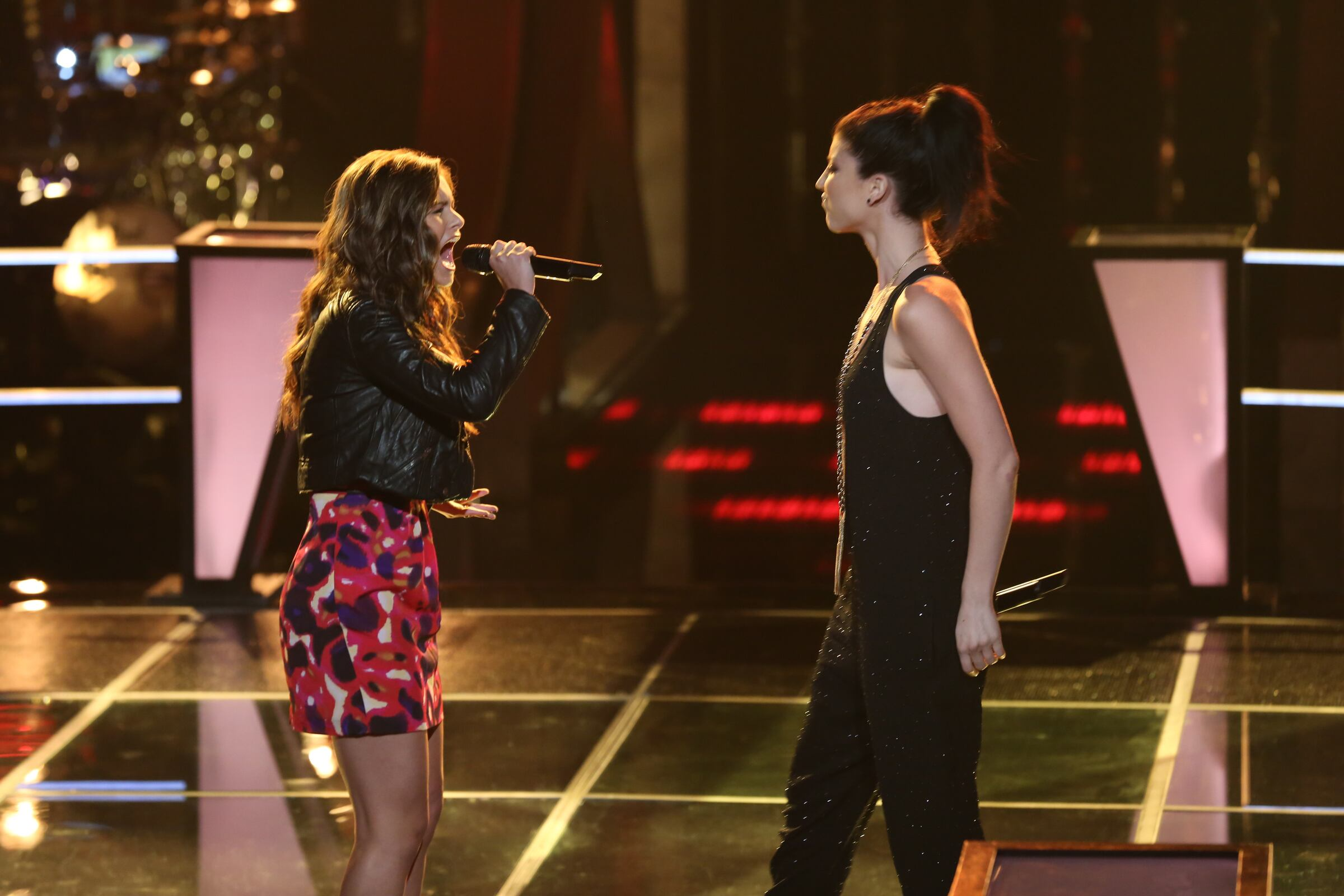 """Preparing her for the battle rounds, Team Christina's advisor Ed Sheeran told Jacquie to find a personal connection to the song she would sing. She followed his advice and beat Briana Cuoco with """"House of the Rising Sun."""""""