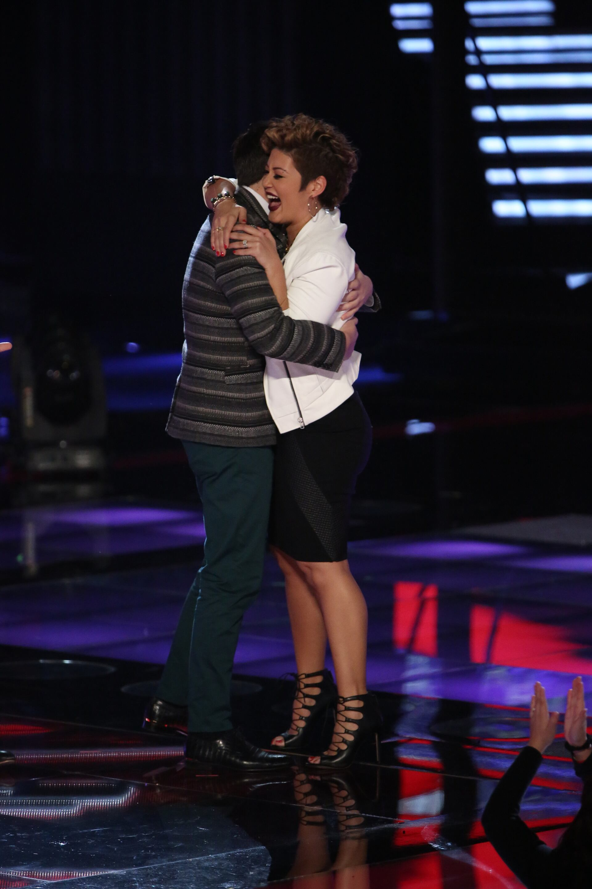 """For the Top 12, Tessanne went back to Emeli Sande, this time taking on the singer's """"My Kind of Love."""" Once again, she blew everyone away, particularly her coach, to advance to the next round."""