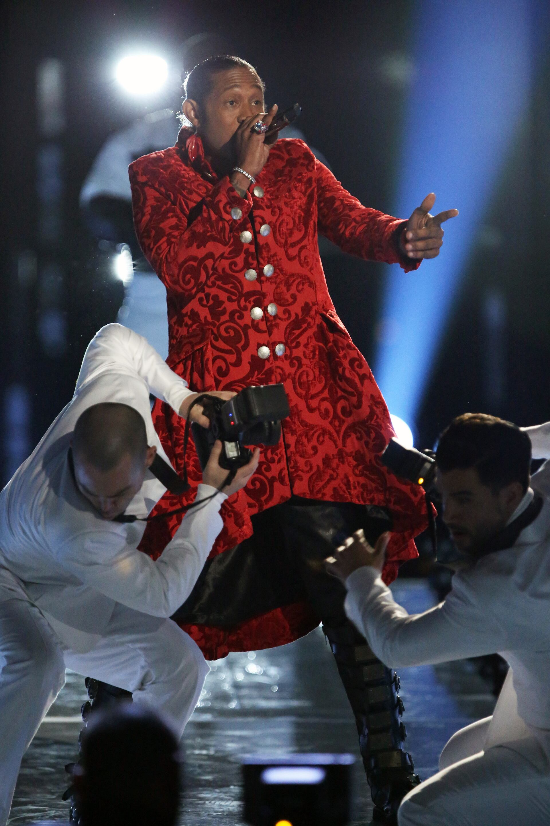 """THE VOICE -- """"Live Show"""" Episode 516B -- Pictured: Big Gipp -- (Photo by: Tyler Golden/NBC)"""