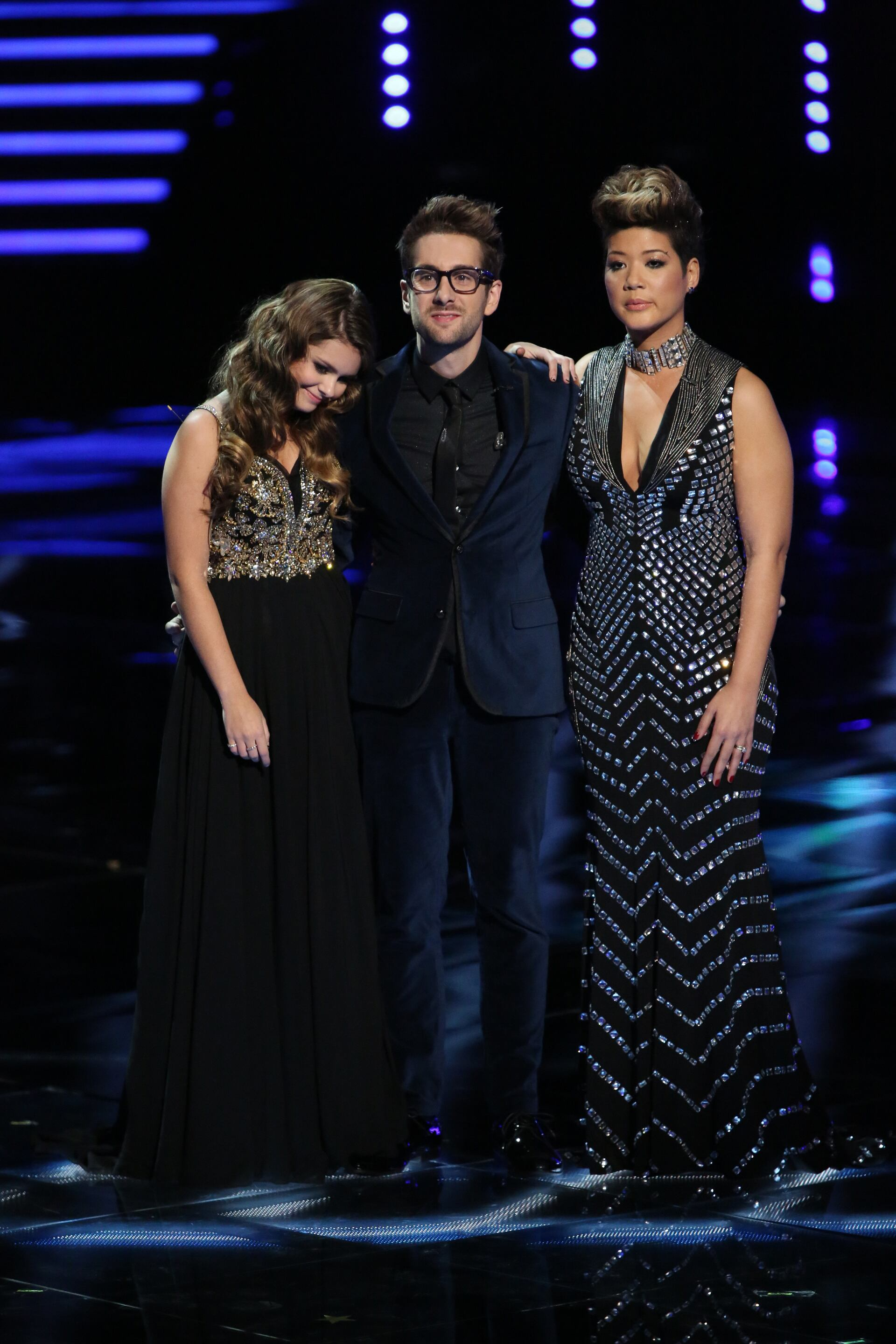 Finally the moment America had been waiting for arrived as Will joined Tessanne and Jacquie to learn the winner of this year's competition.
