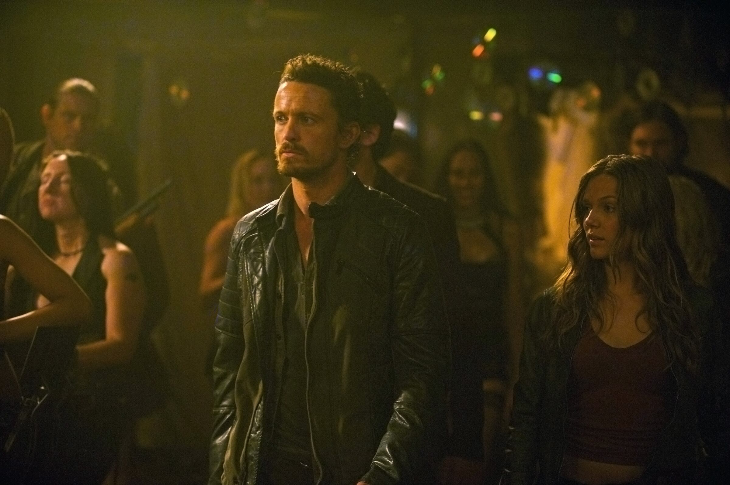 Pictured: (l-r) David Lyons as Sebastian Monroe, Tracy Spiridakos as Charlie Matheson  -- (Photo by: Felicia Graham/NBC/NBCU Photo Bank)