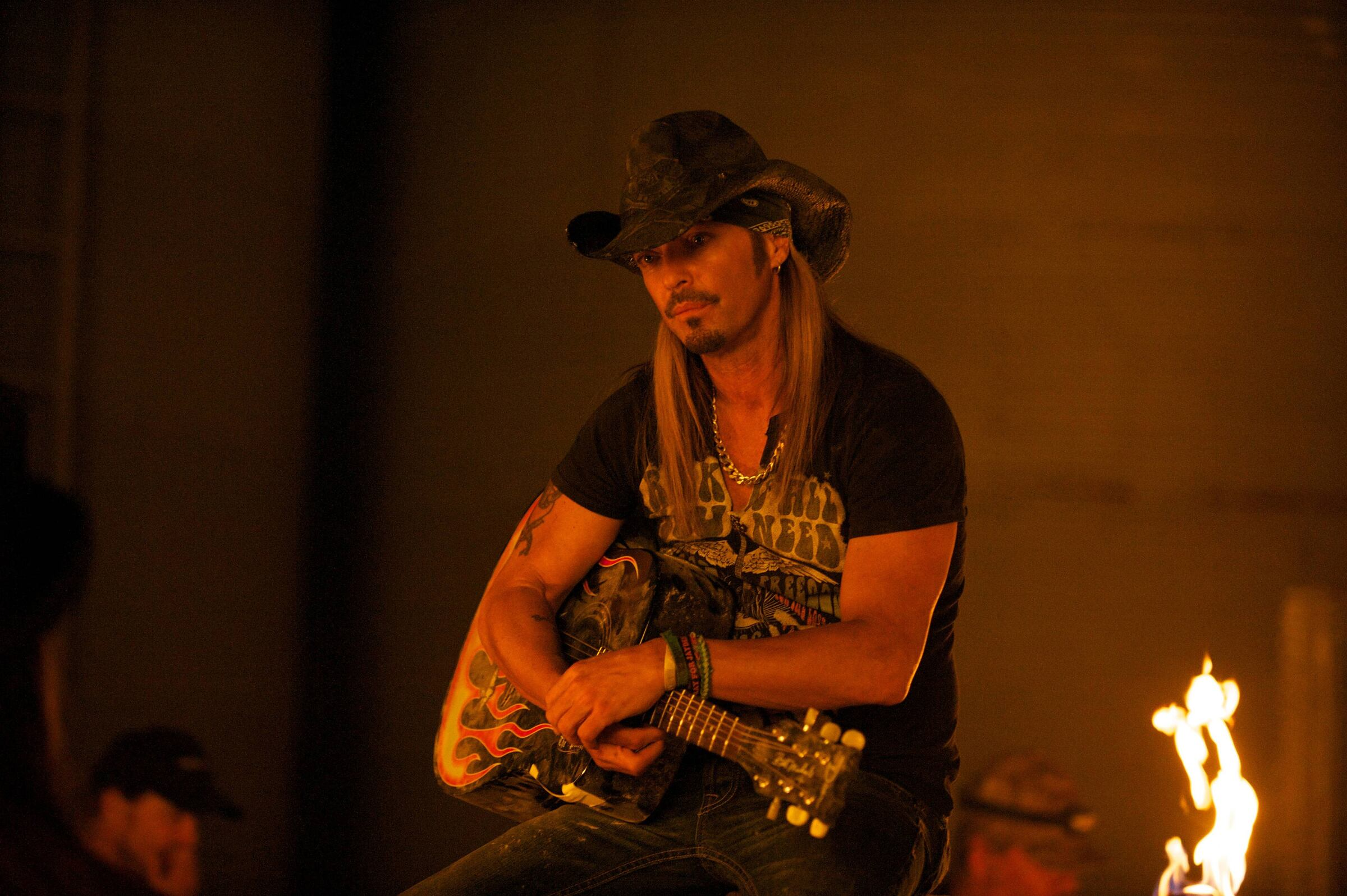 Pictured: Bret Michaels as Himself -- (Photo by: Felicia Graham/NBC/NBCU Photo Bank)