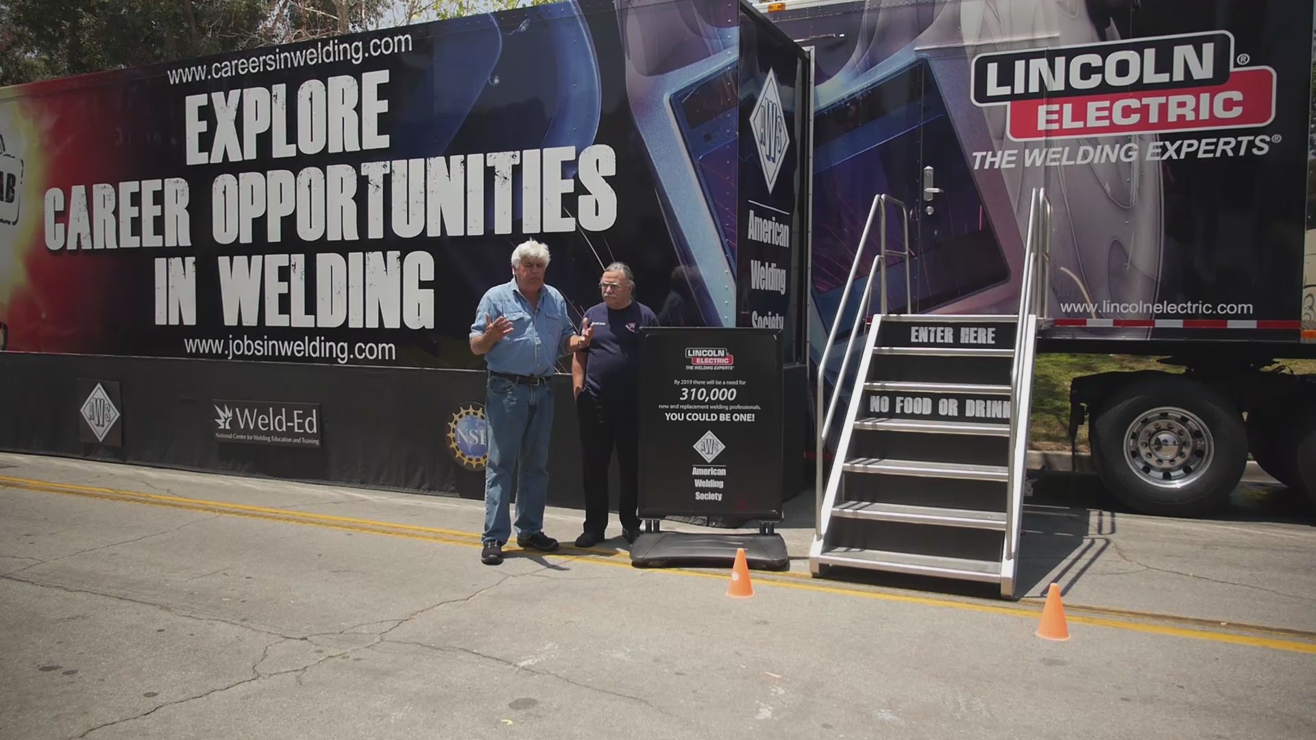 Watch Jay Leno S Garage Web Exclusive Explore Careers In Welding