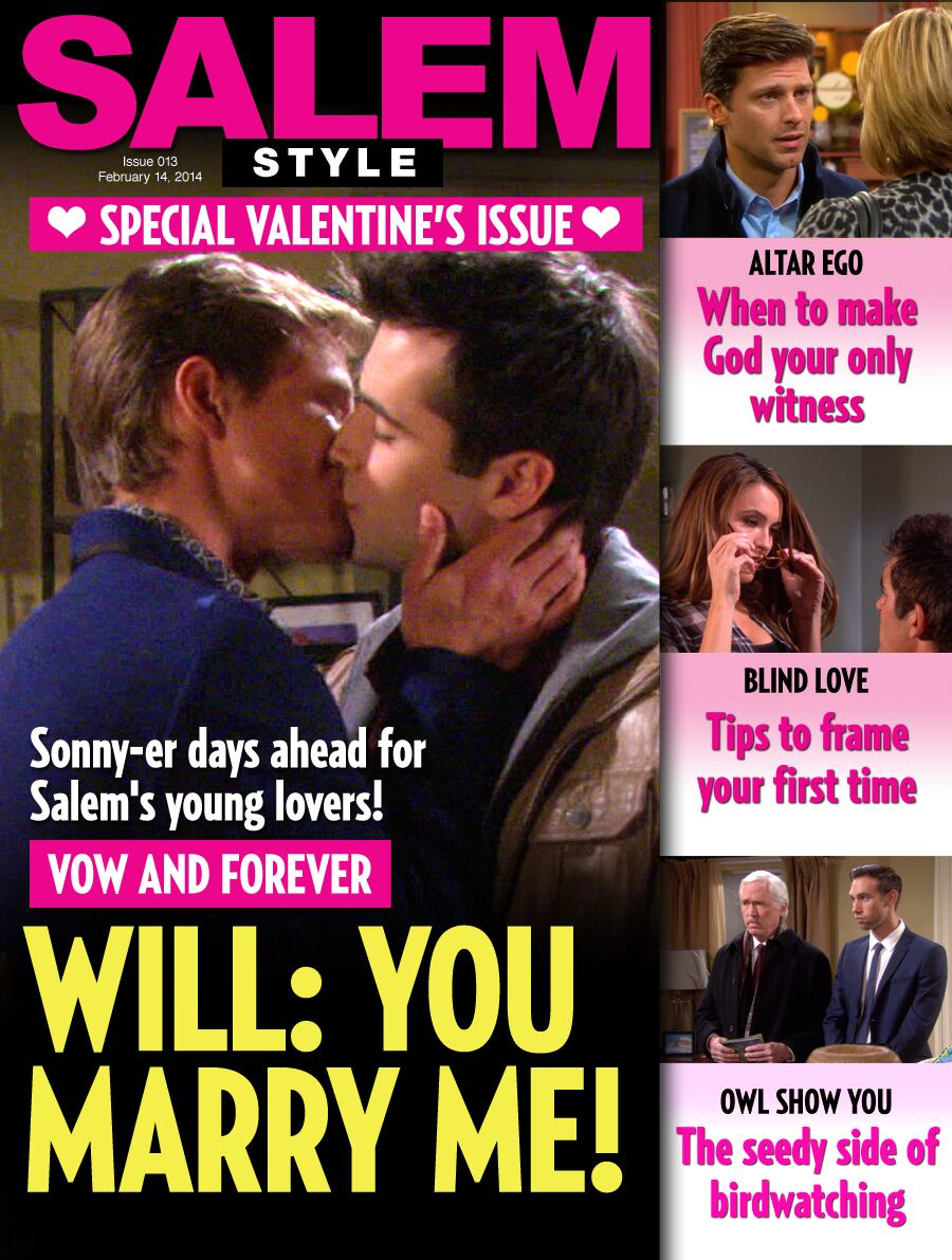 NBC - Days of our Lives - Salem Style - Valentine's Day Issue