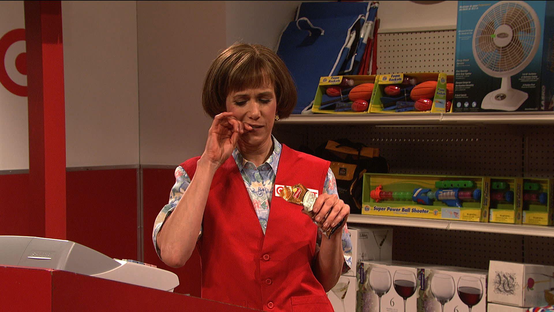 Watch Saturday Night Live Highlight Target Lady Nbc Com