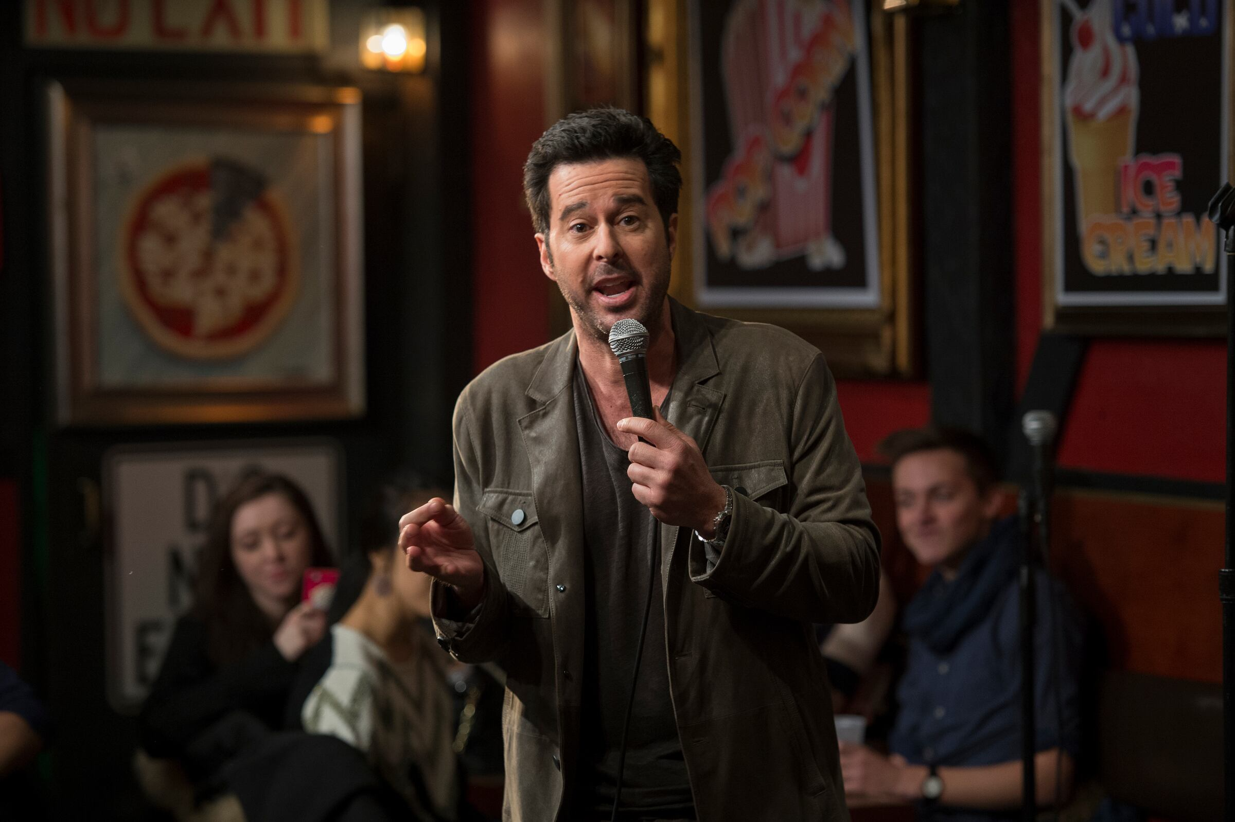 Jonathan Silverman plays crude standup comedian Josh Galloway who defends his act - and his actions - on trial when a fan accuses him of rape.