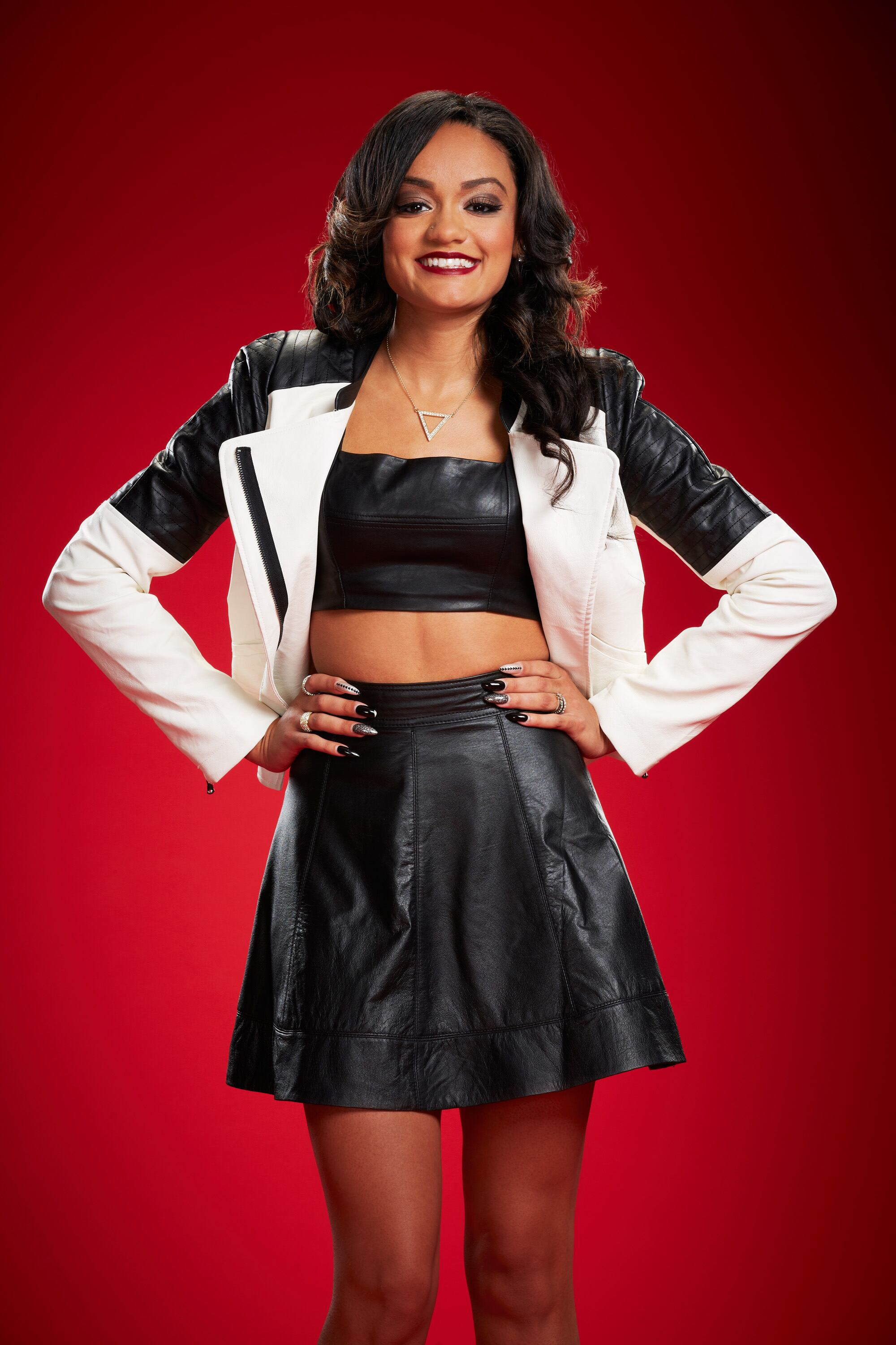 THE VOICE -- Season: 6 -- Pictured: Brittnee Camelle -- (Photo by: Paul Drinkwater/NBC)