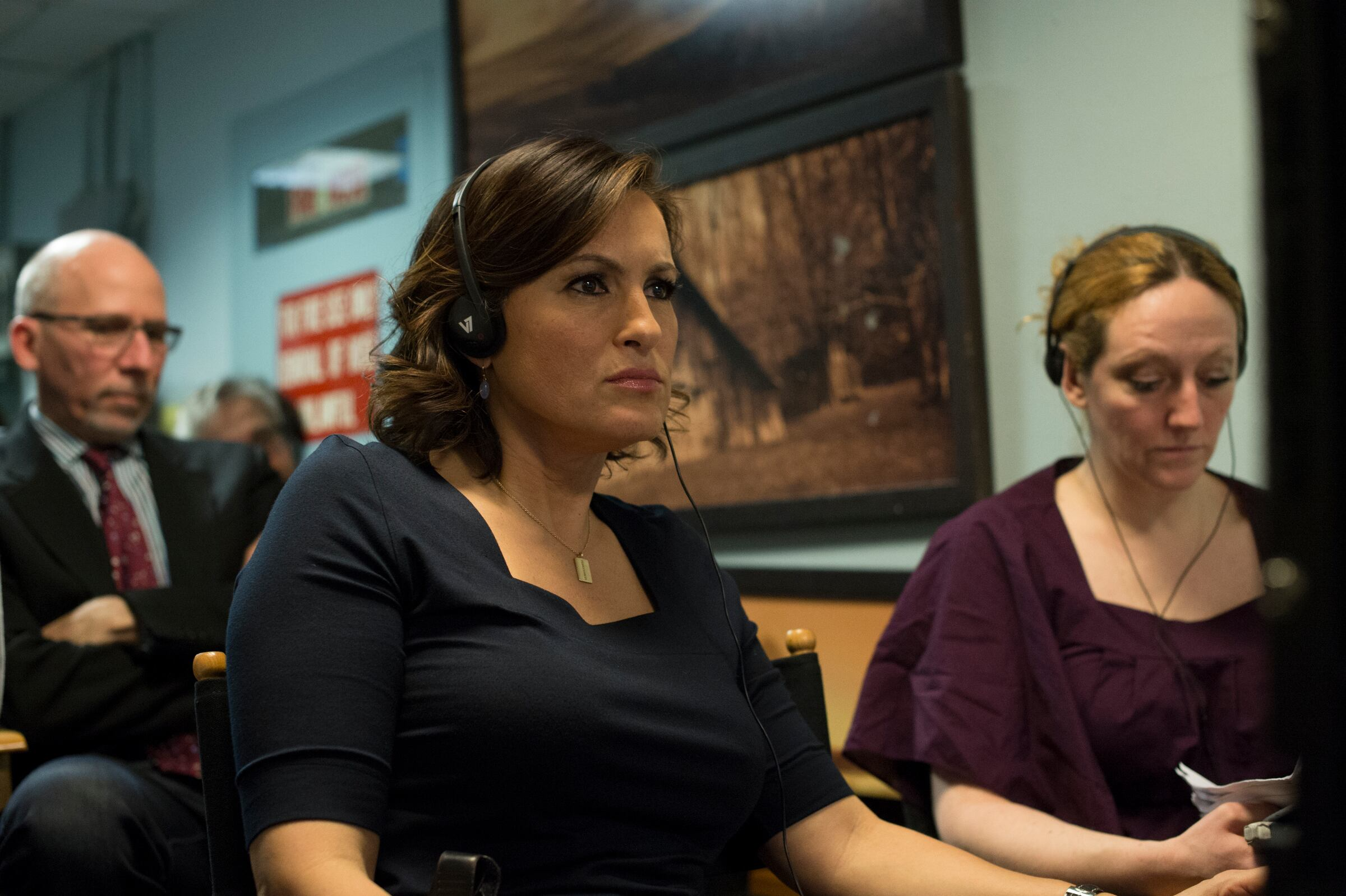 "LAW & ORDER: SPECIAL VICTIMS UNIT -- ""Criminal Stories"" Episode 1518 -- Pictured: Mariska Hargitay -- (Photo by: Michael Parmelee/NBC)"