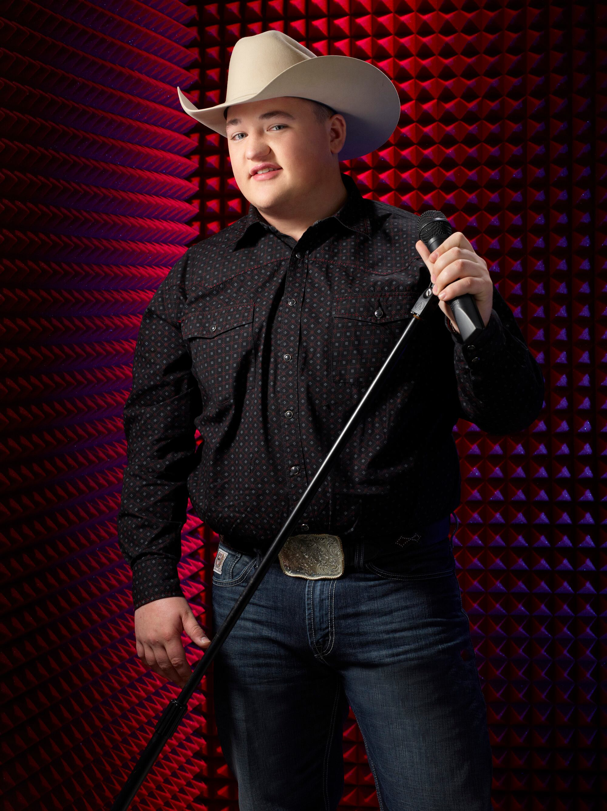 THE VOICE -- Season: 6 -- Pictured: Jake Worthington -- (Photo by: Paul Drinkwater/NBC)