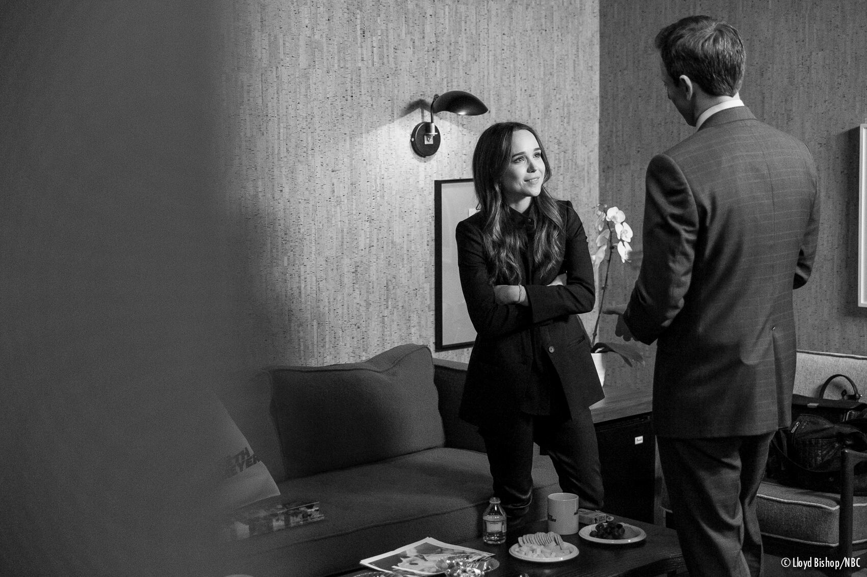 Ellen Page on Late Night with Seth Meyers