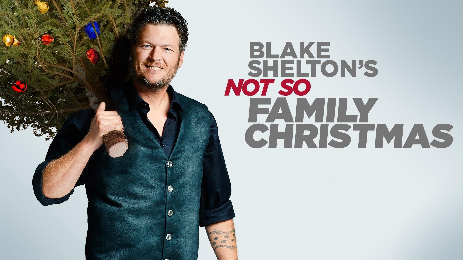 blake sheltons not so family christmas nbccom - Blake Shelton Christmas