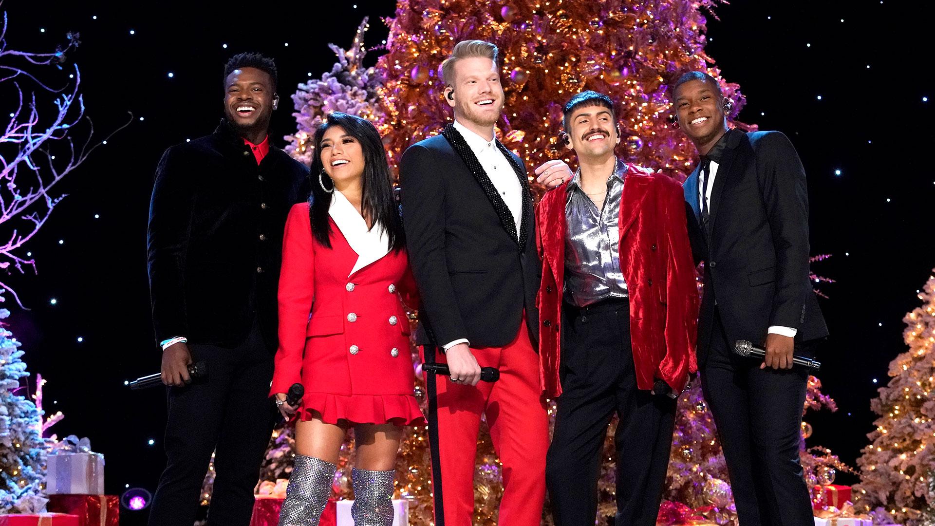 watch a very pentatonix christmas episode a very pentatonix christmas nbccom