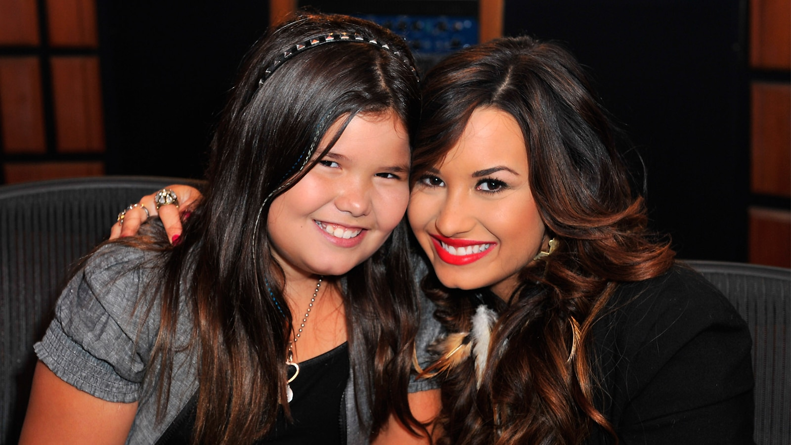 Watch access interview demi lovatos little sister madison de la watch access interview demi lovatos little sister madison de la garza is all grown up unrecognizable at her sweet 16 nbc m4hsunfo