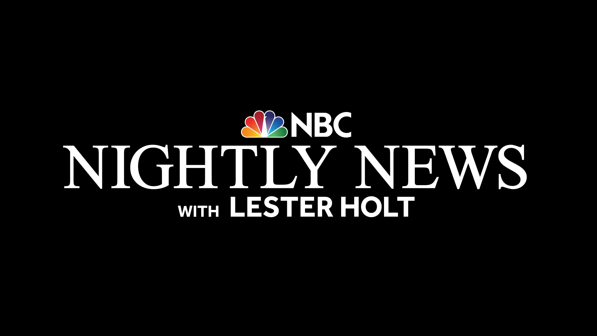 NBC Nightly News with Lester Holt - NBC com