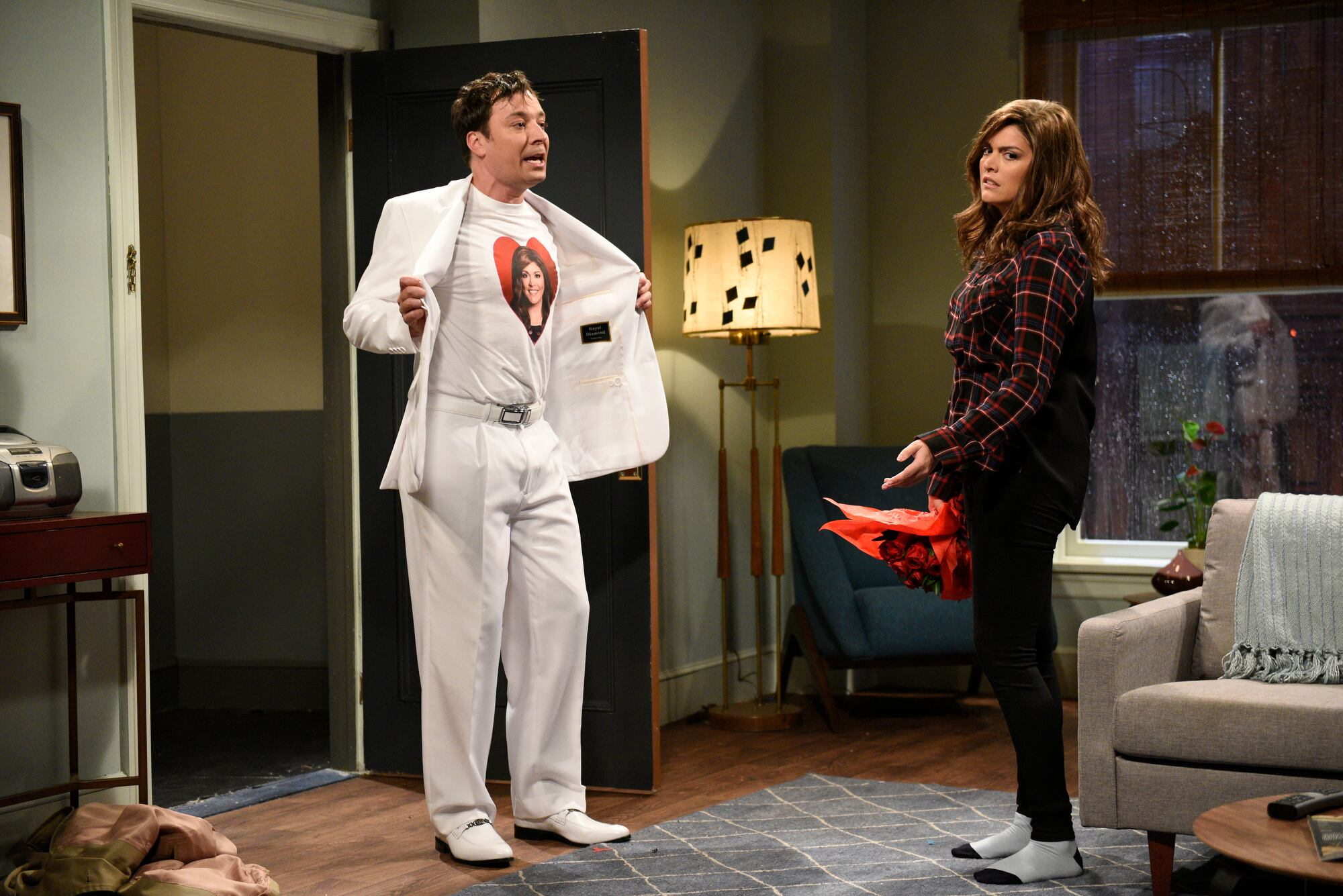 From the Set: Jimmy Fallon and Harry Styles