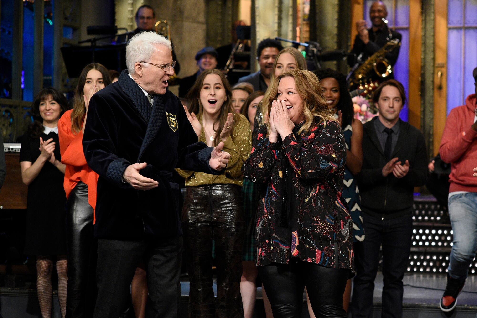 From the Set: Melissa McCarthy and HAIM